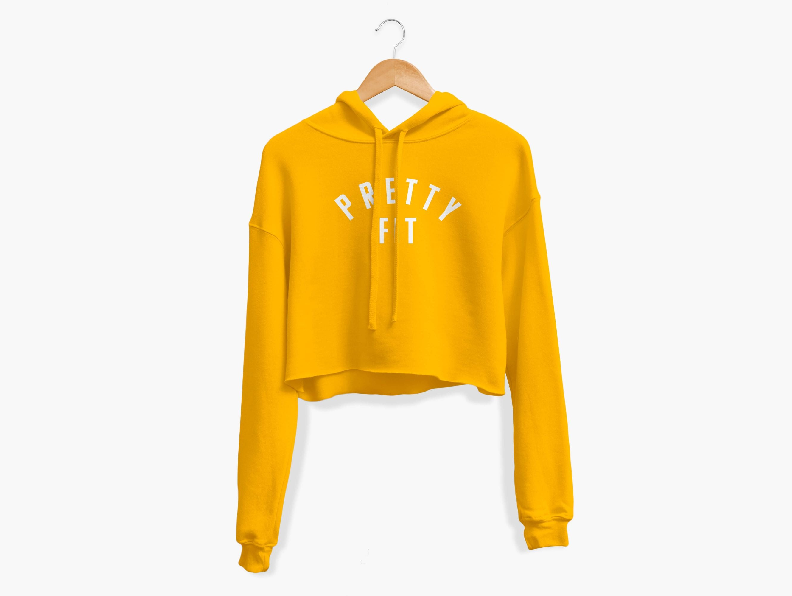 Pretty Fit Cropped Hoodie