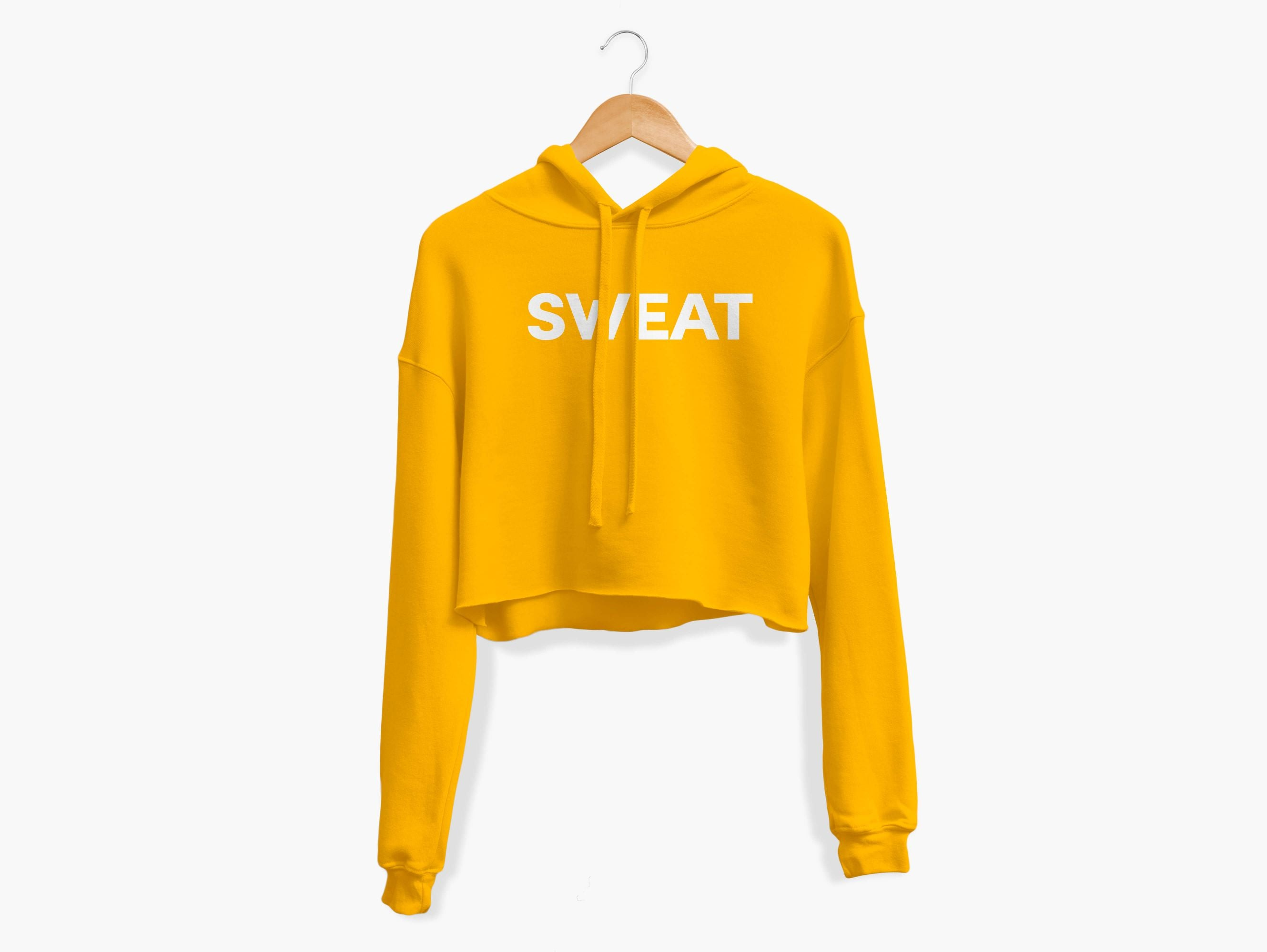 SWEAT Cropped Hoodie