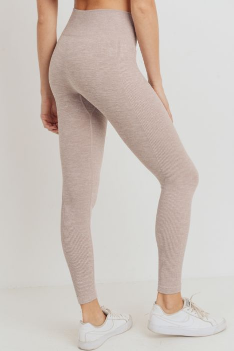 Almond Essential Seamless Leggings