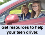 CLICK THIS LINK if you're a parent who wants resources to help your teen driver.