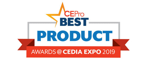 CEPro Best Product Awards Logo from CEDIA 2019