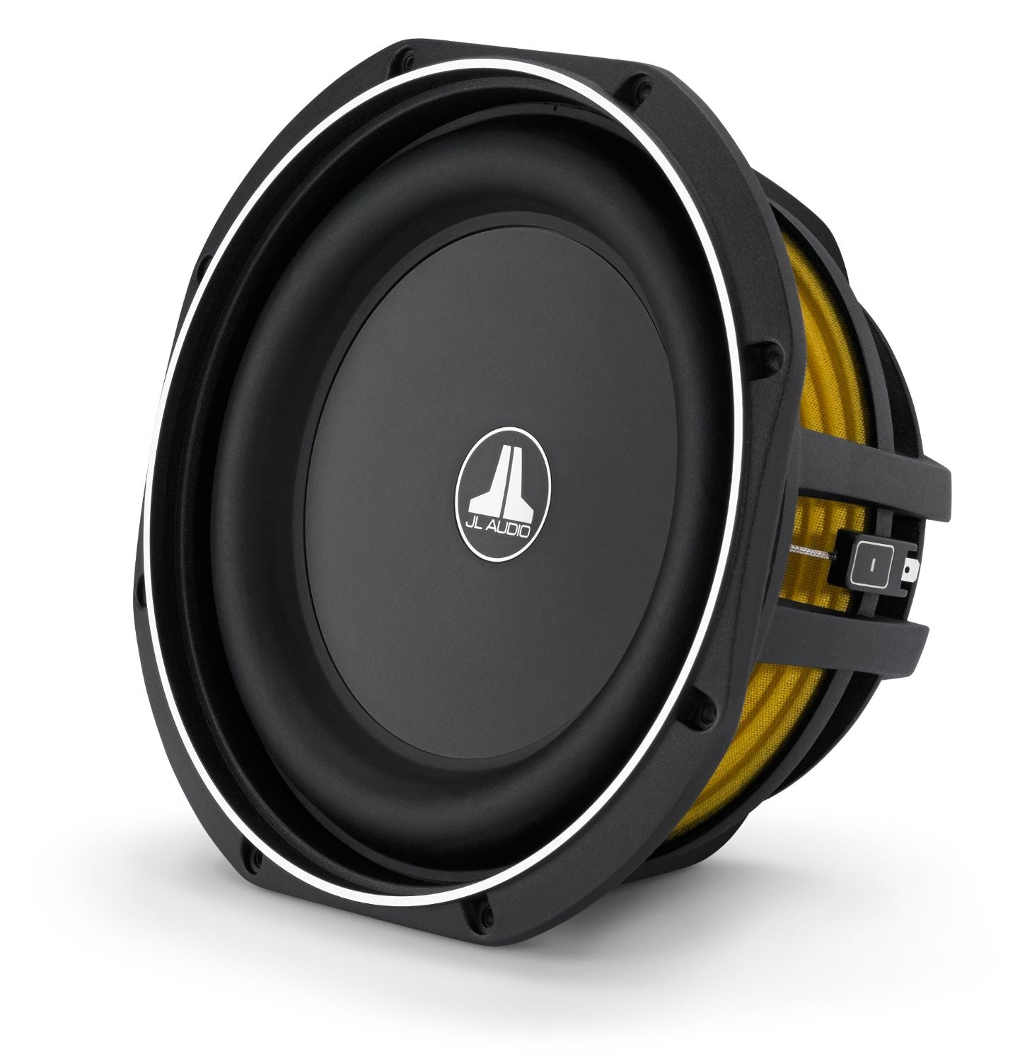Front of 10TW1 Subwoofer Facing Left