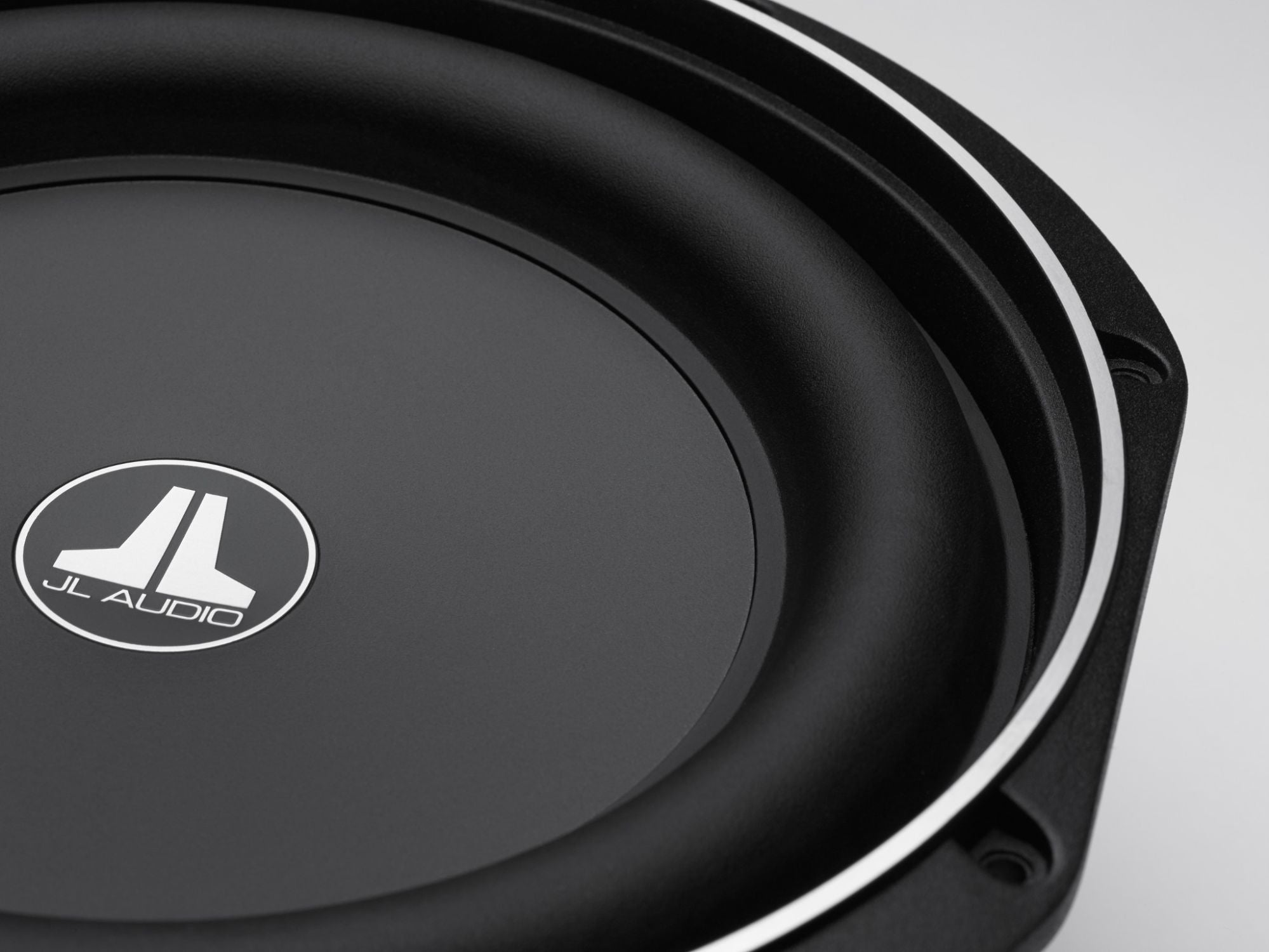 Detail of 10TW1 Subwoofer showing Frame and Surround from Front Edge