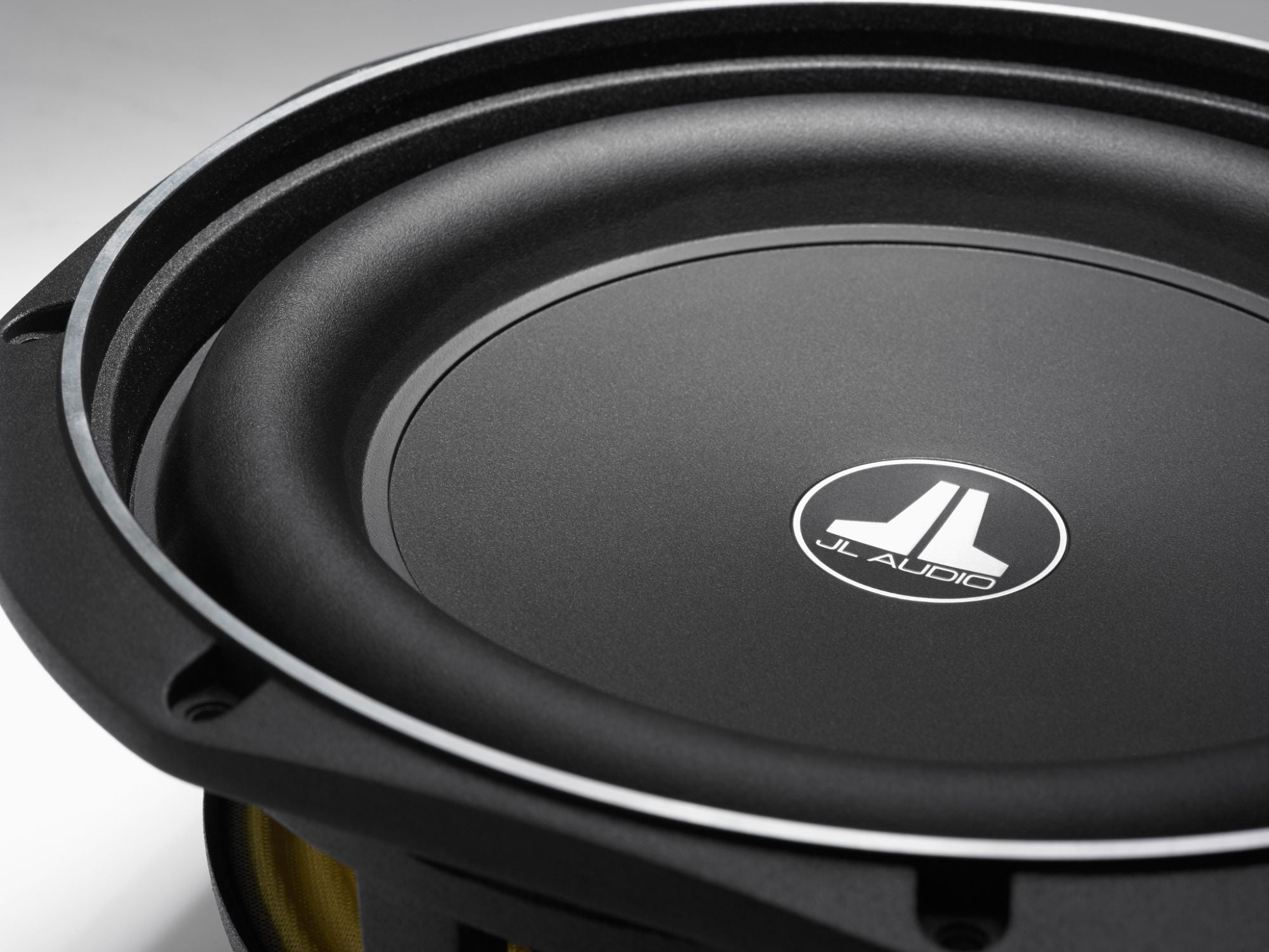 Detail of 10TW1 Subwoofer showing Frame and Surround on Right Edge