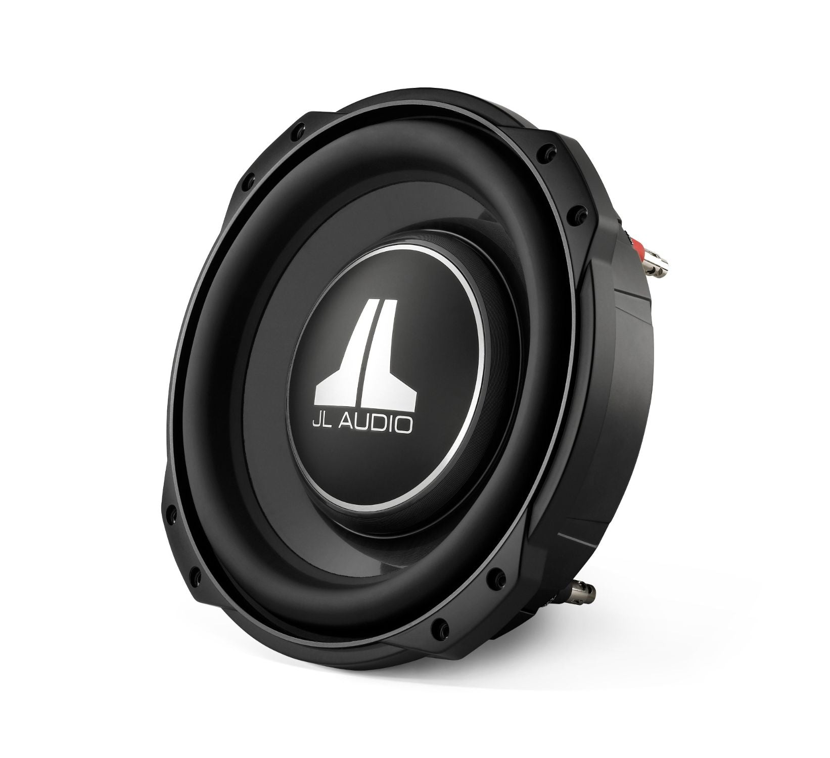 Front of 10TW3 Subwoofer Facing Left
