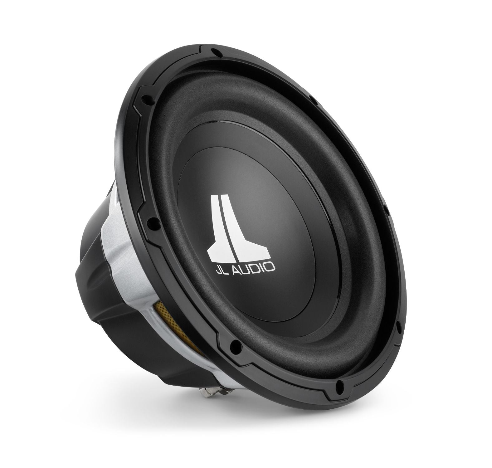 Front of 10W0v3 Subwoofer Facing Right
