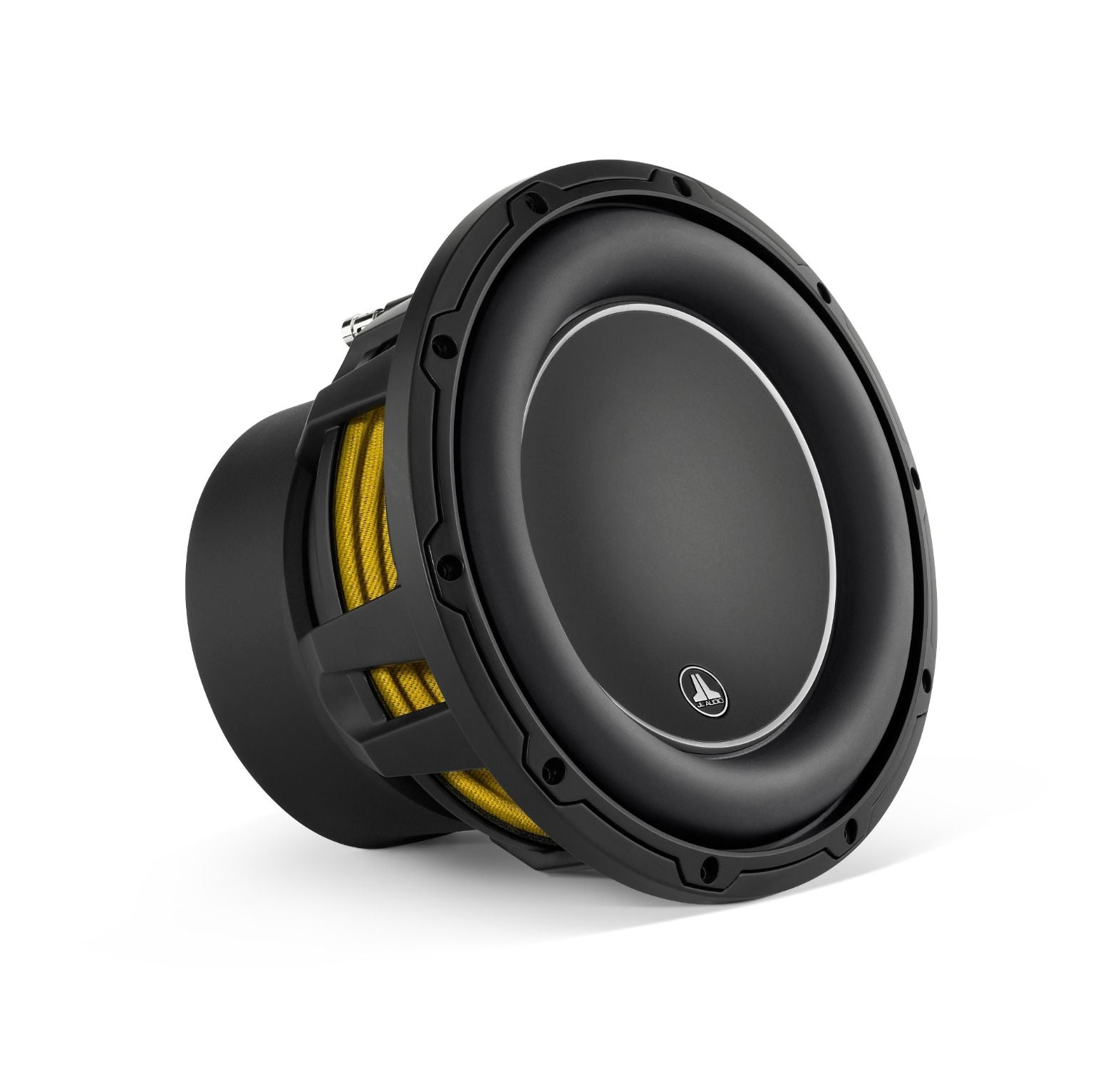 Front of 10W6v3 Subwoofer Facing Right