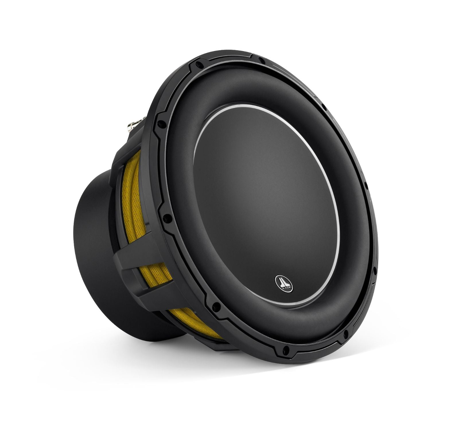 Front of 12W6v3 Subwoofer Facing Right