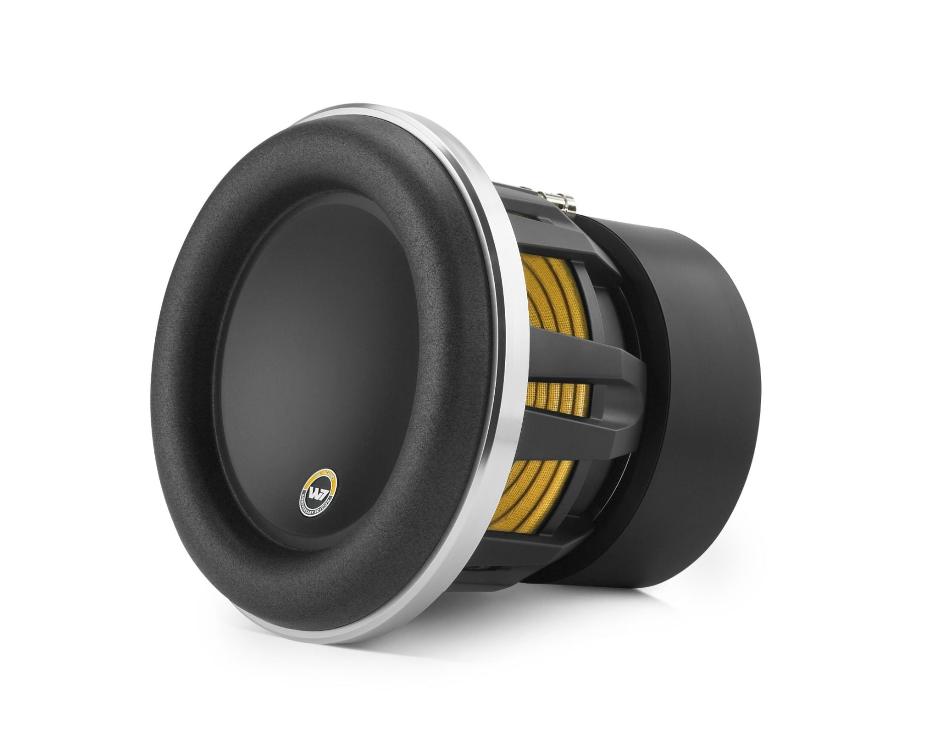 Front of 8W7AE Subwoofer Facing Left