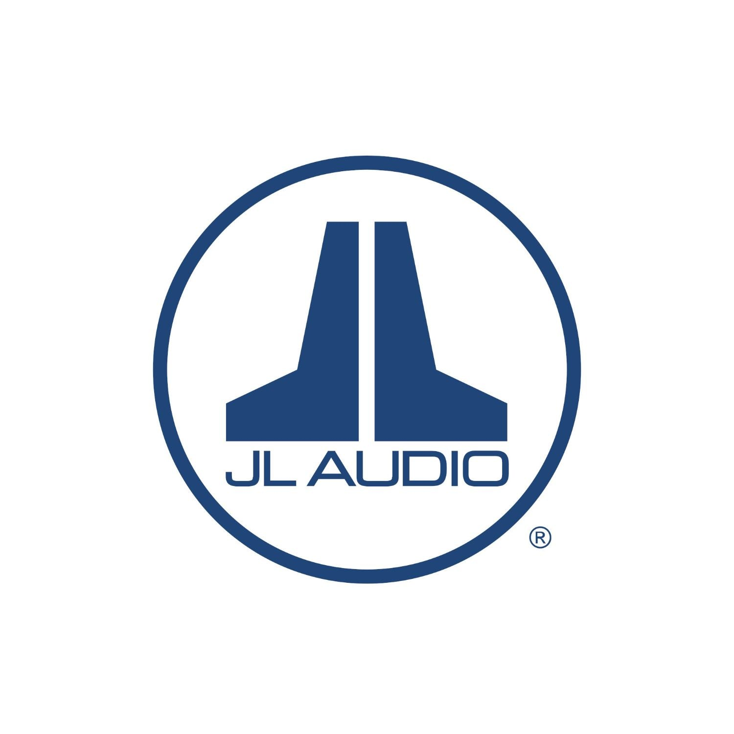 Blue JL Audio Badge Logo Decal