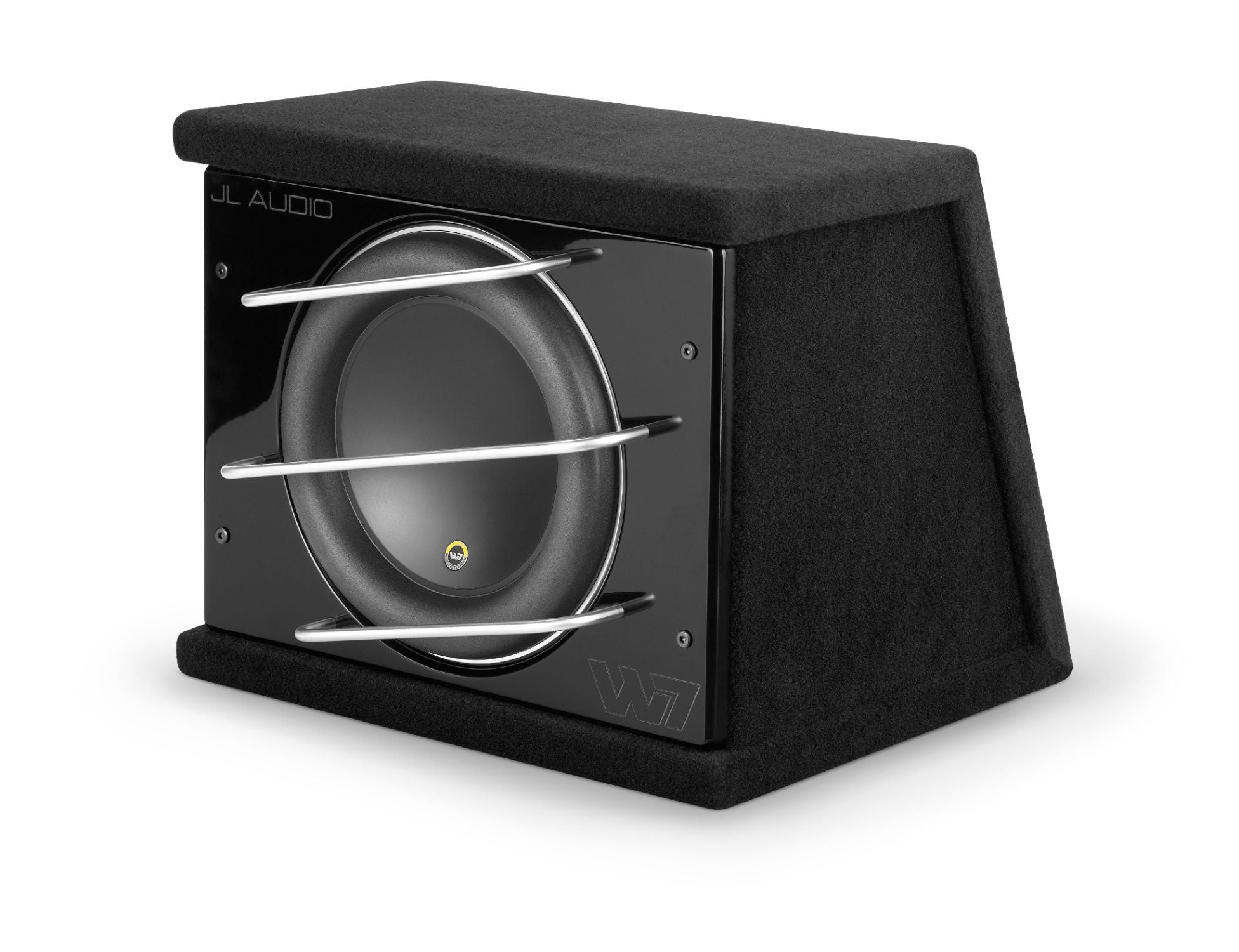 Front of CLS112RG-W7AE Enclosed Subwoofer Facing Left