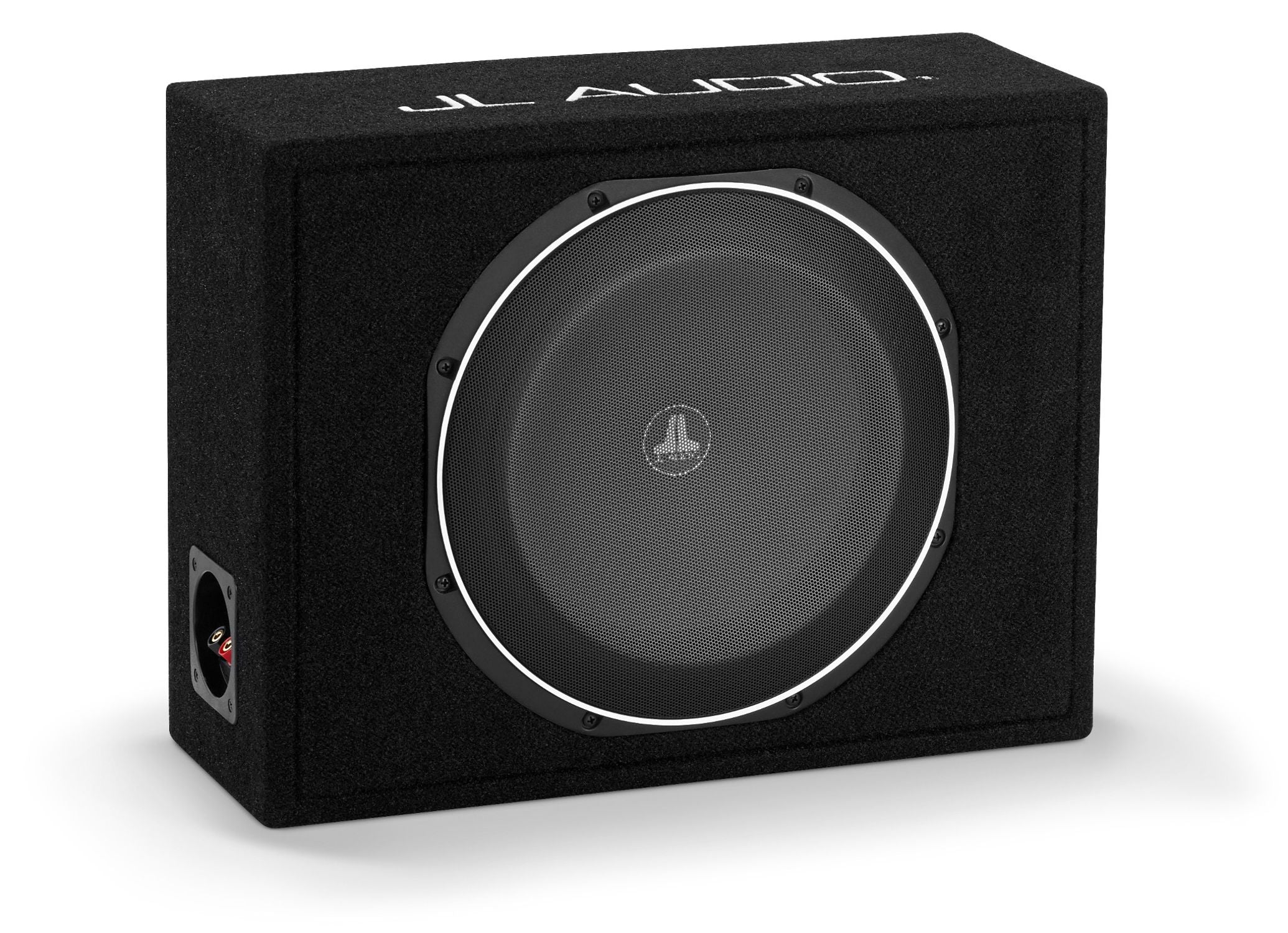 Front of CS112LG-TW1 Enclosed Subwoofer Facing Right