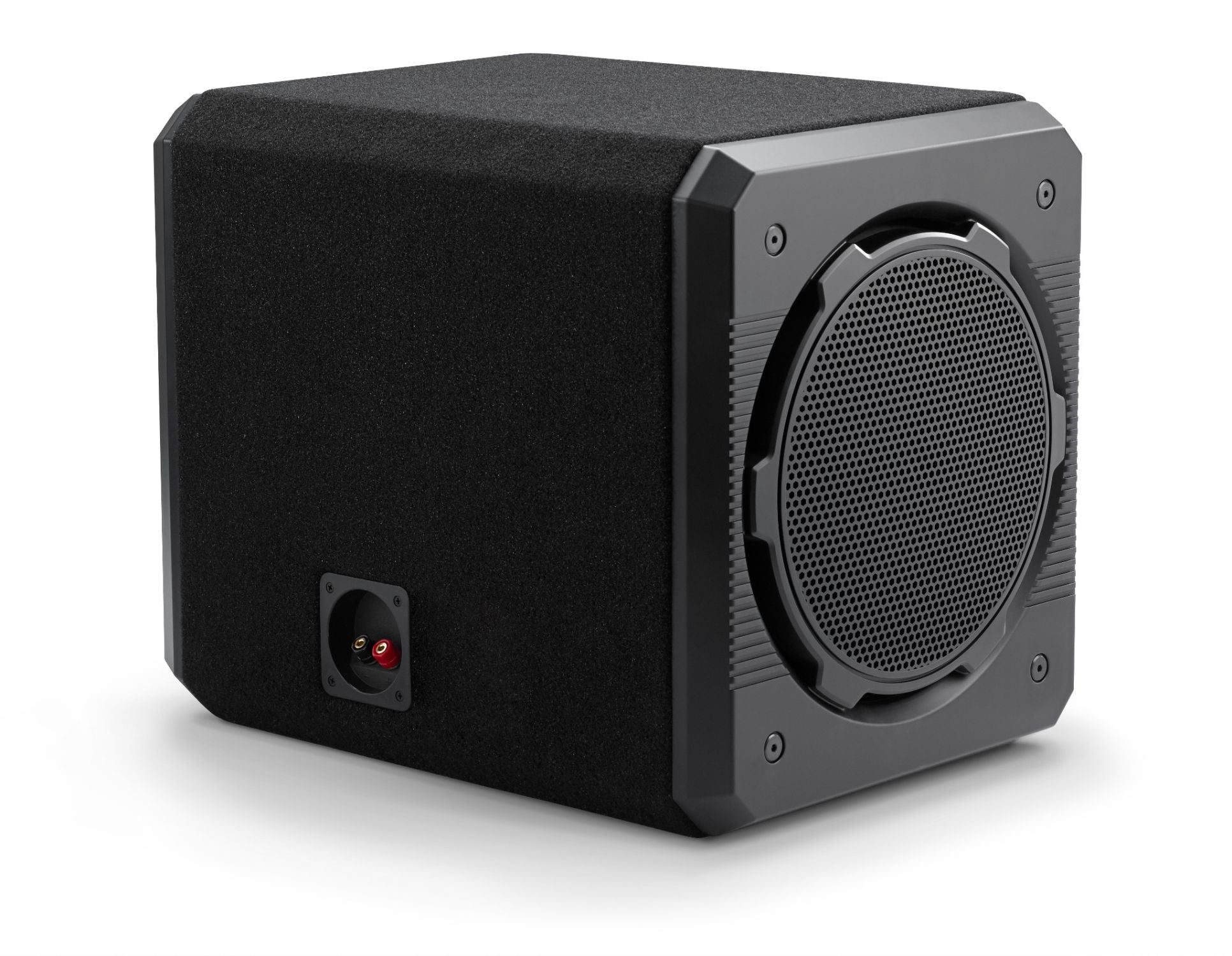 Front of CS212G-TW3 Enclosed Subwoofer Facing Right