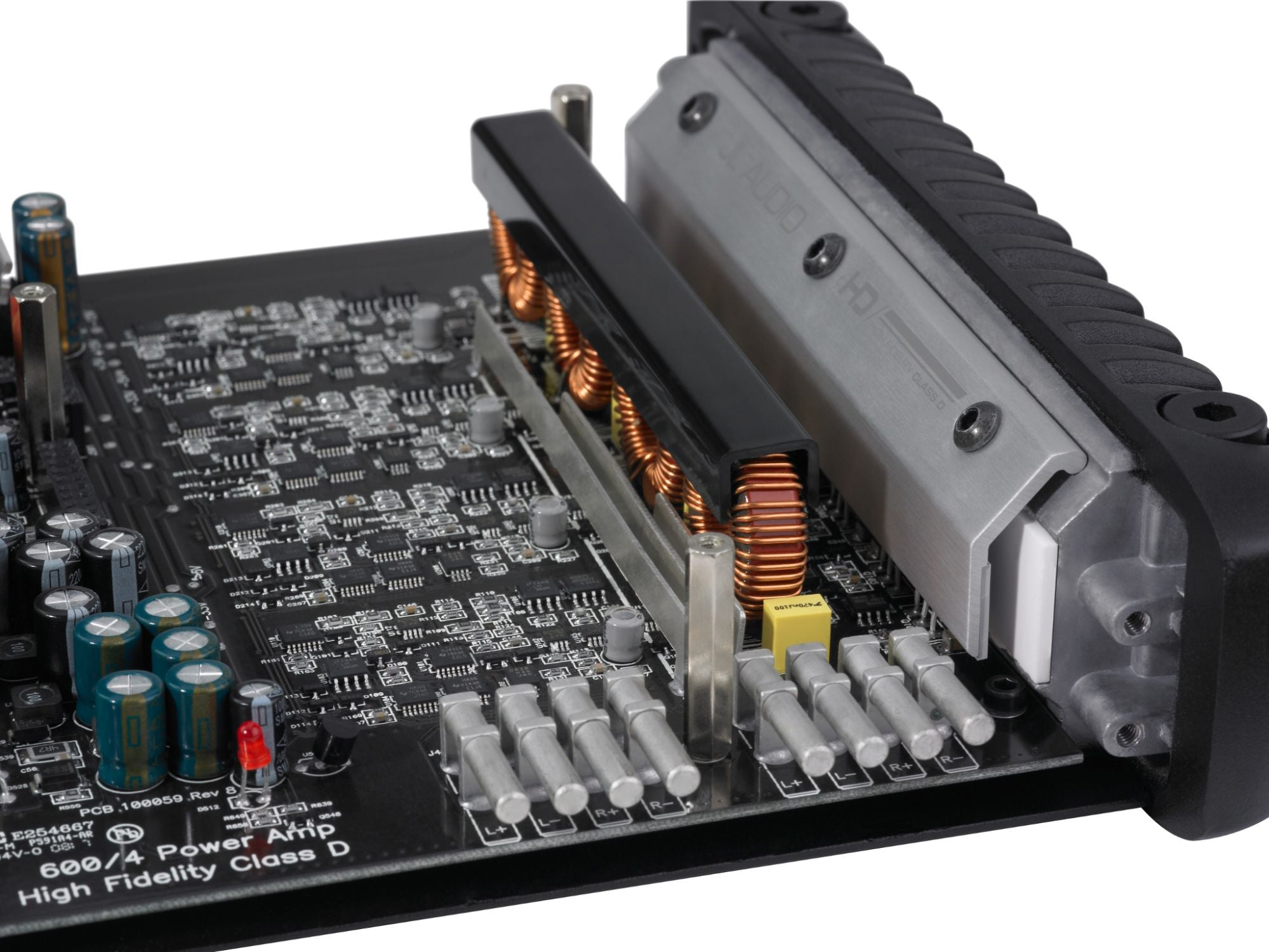 Detail of HD600/4 Amplifier Internals