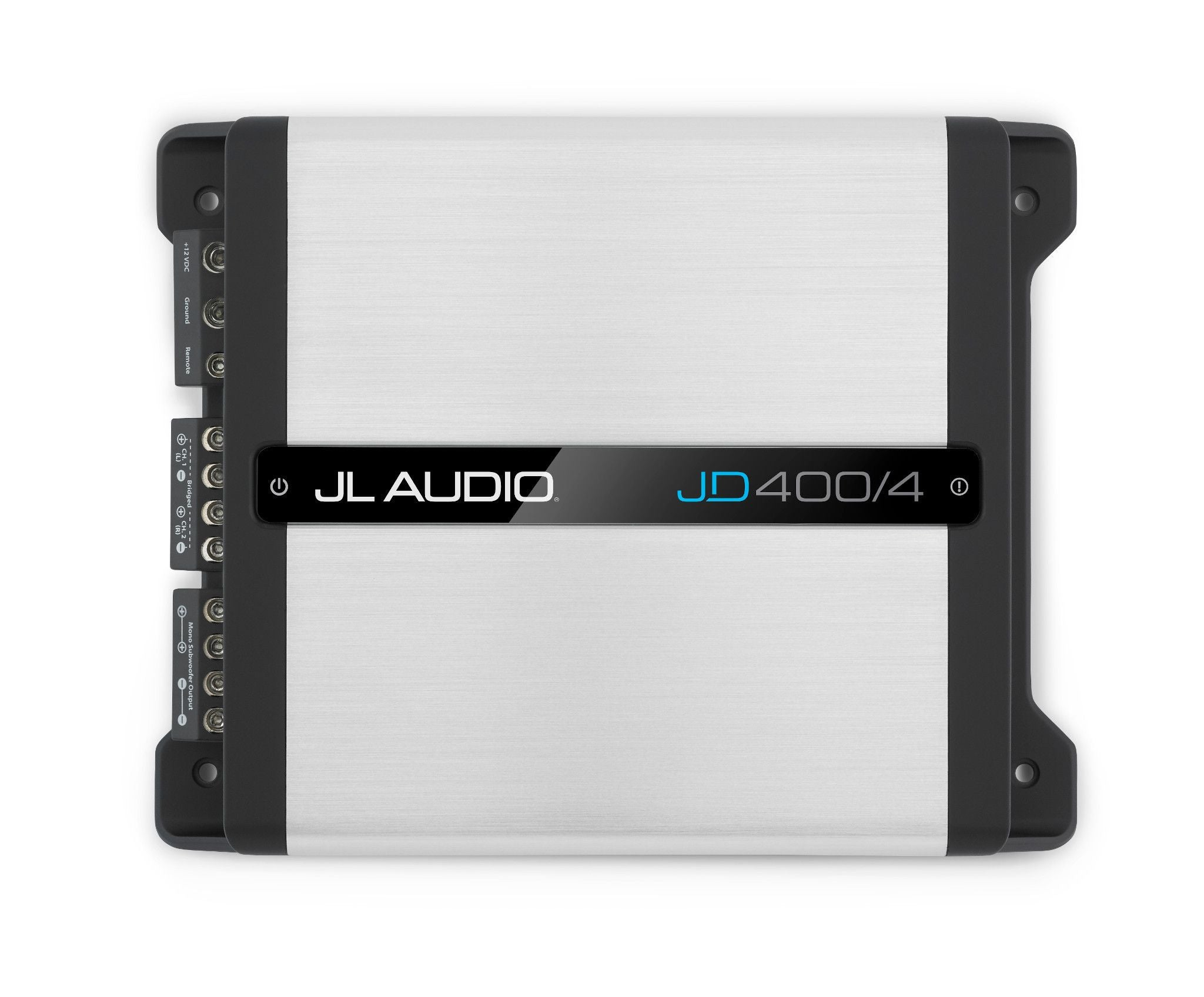 Front Overhead of JD400/4 Amplifier