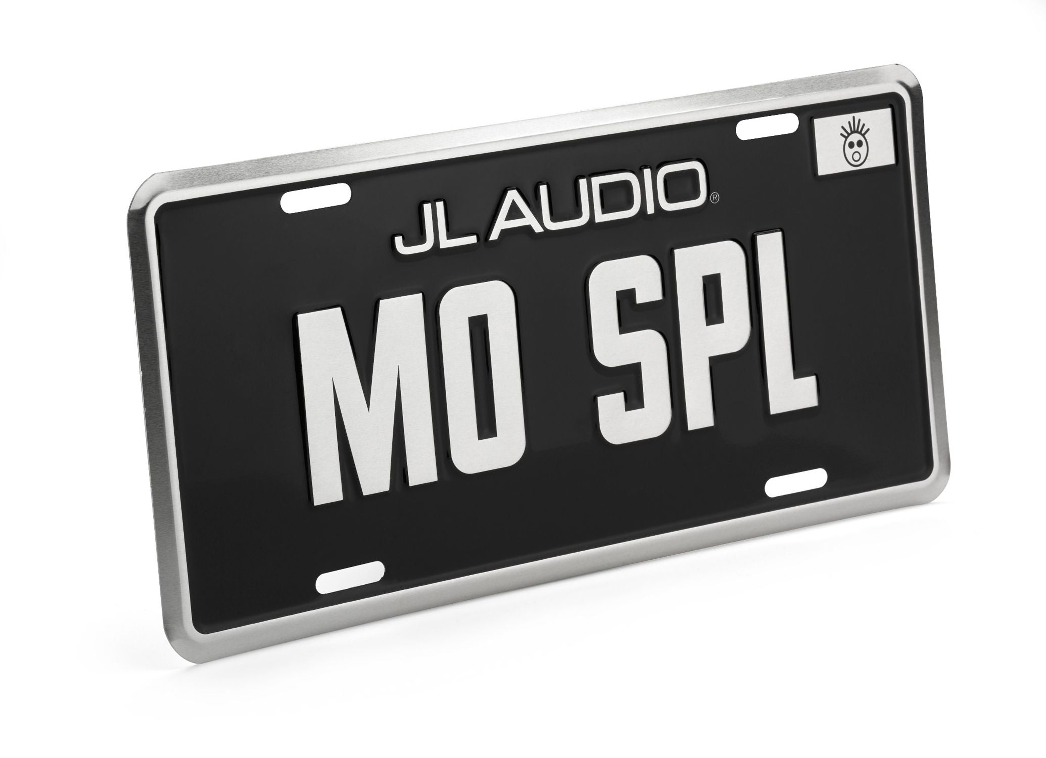 Black Mo SPL License Plate