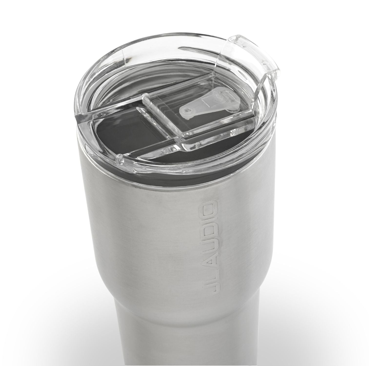 Detail of Stainless Tumbler Lid - Closed