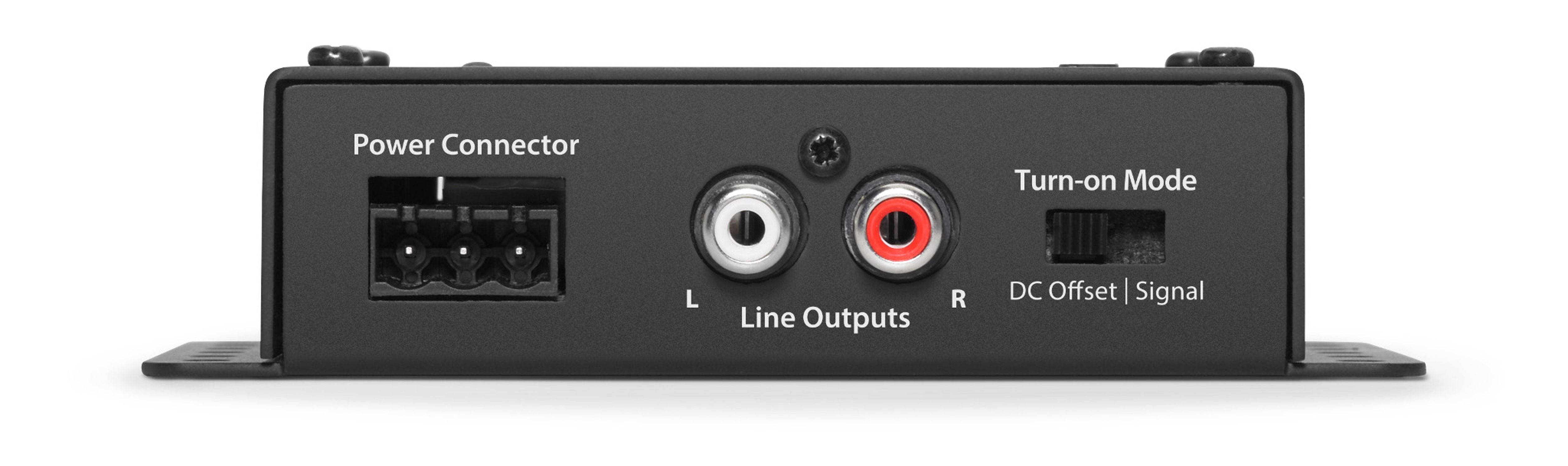 LoC-22 Amplifier Networking Hub Inputs Side