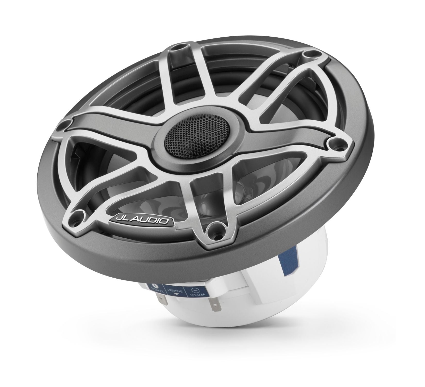 M6-650X-S-GmTi-i Coaxial Speaker Tilted