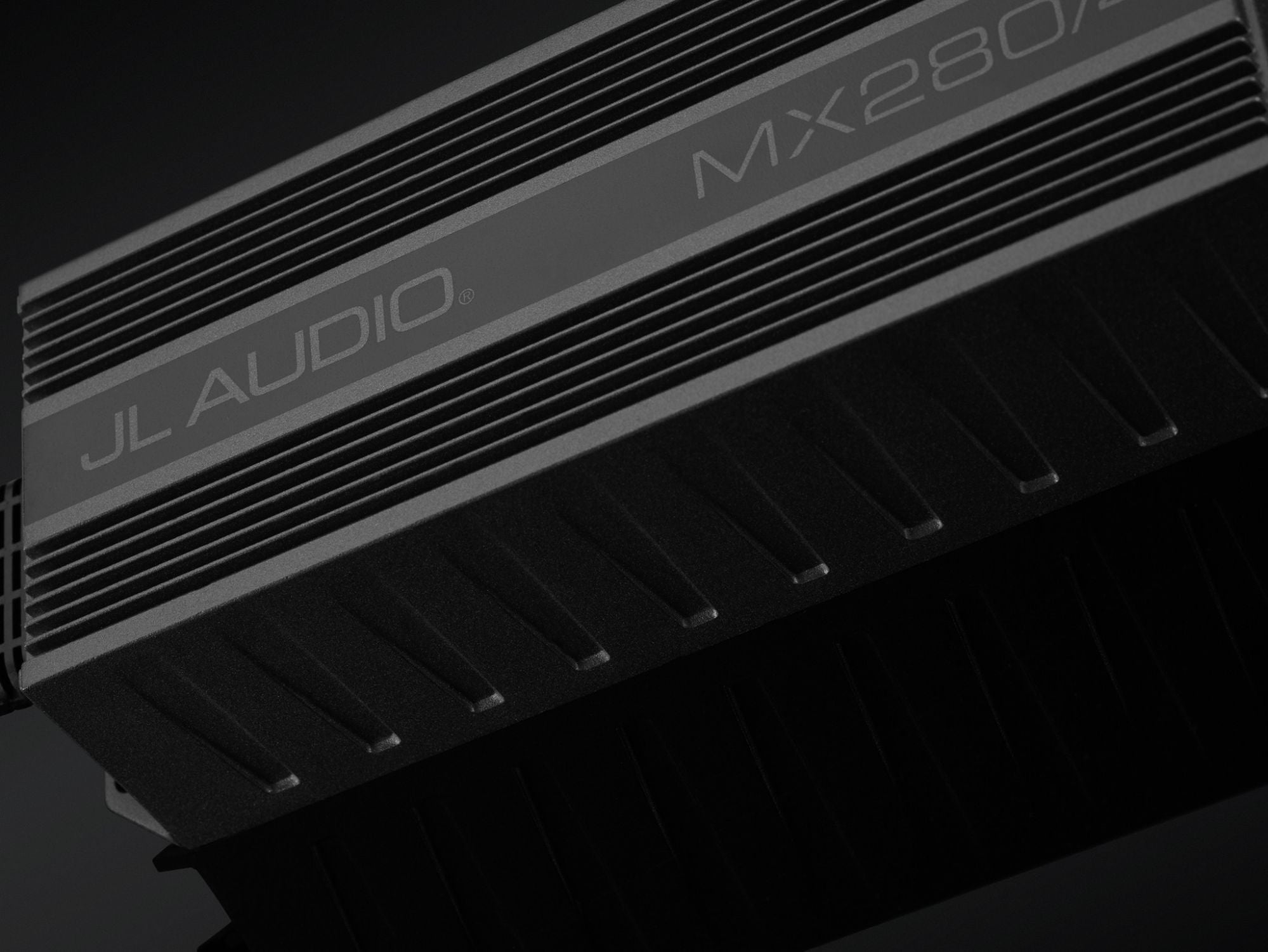 Detail of MX280/4 Amplifier