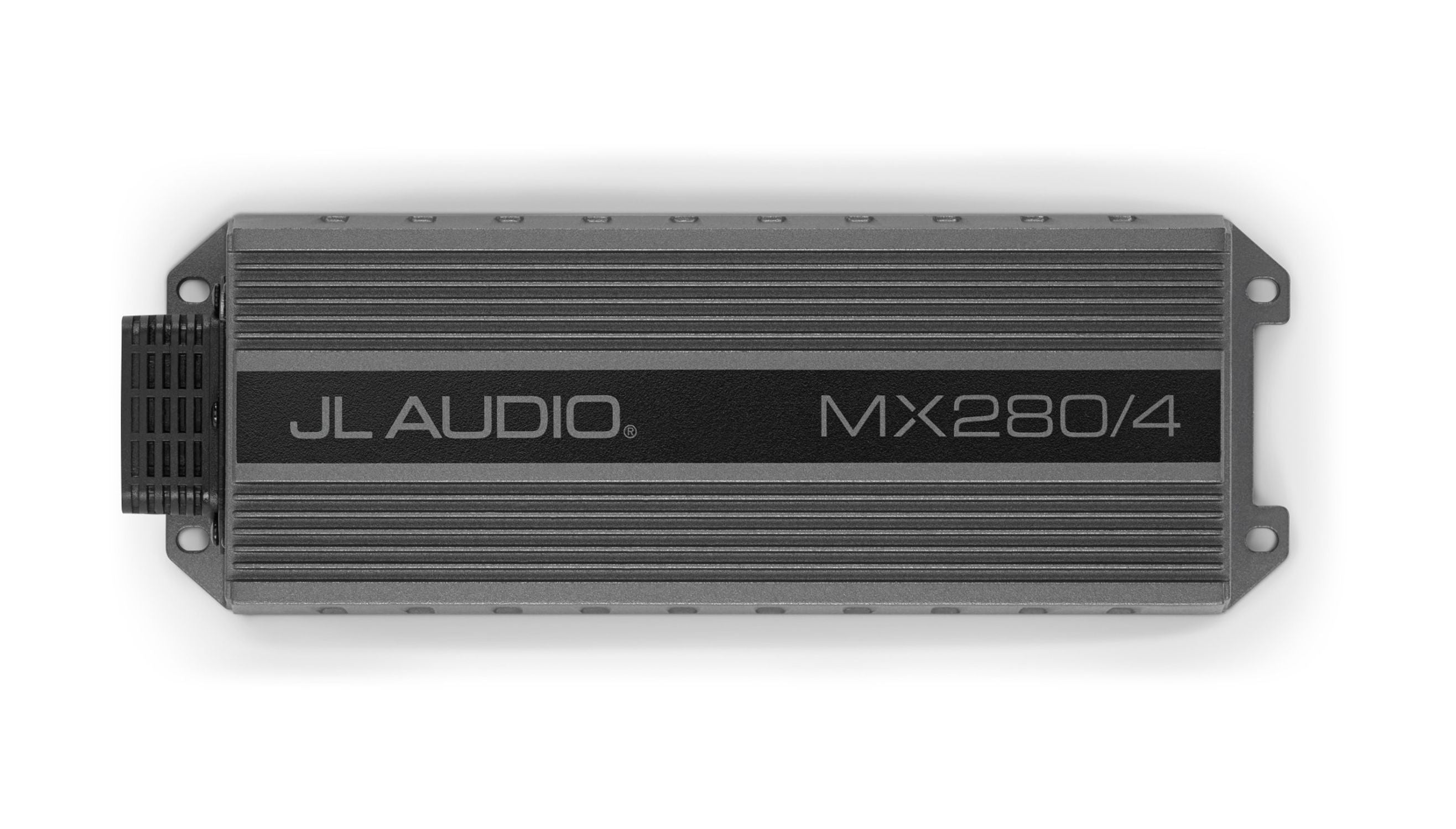 Front Overhead of MX280/4 Amplifier
