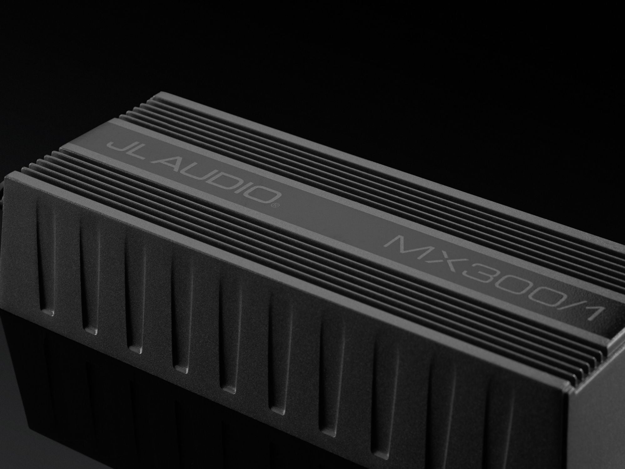 Detail of MX300/1 Amplifier
