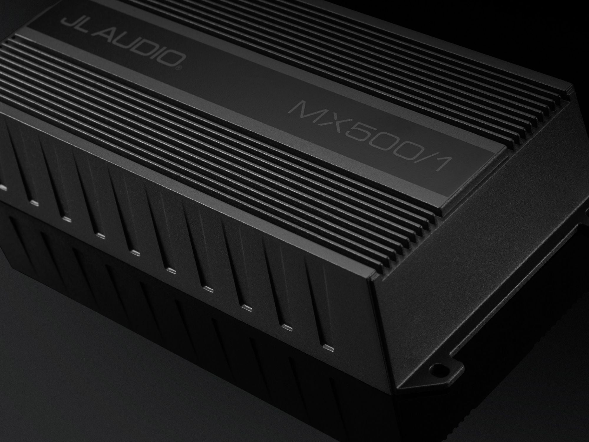 Detail of MX500/1 Amplifier