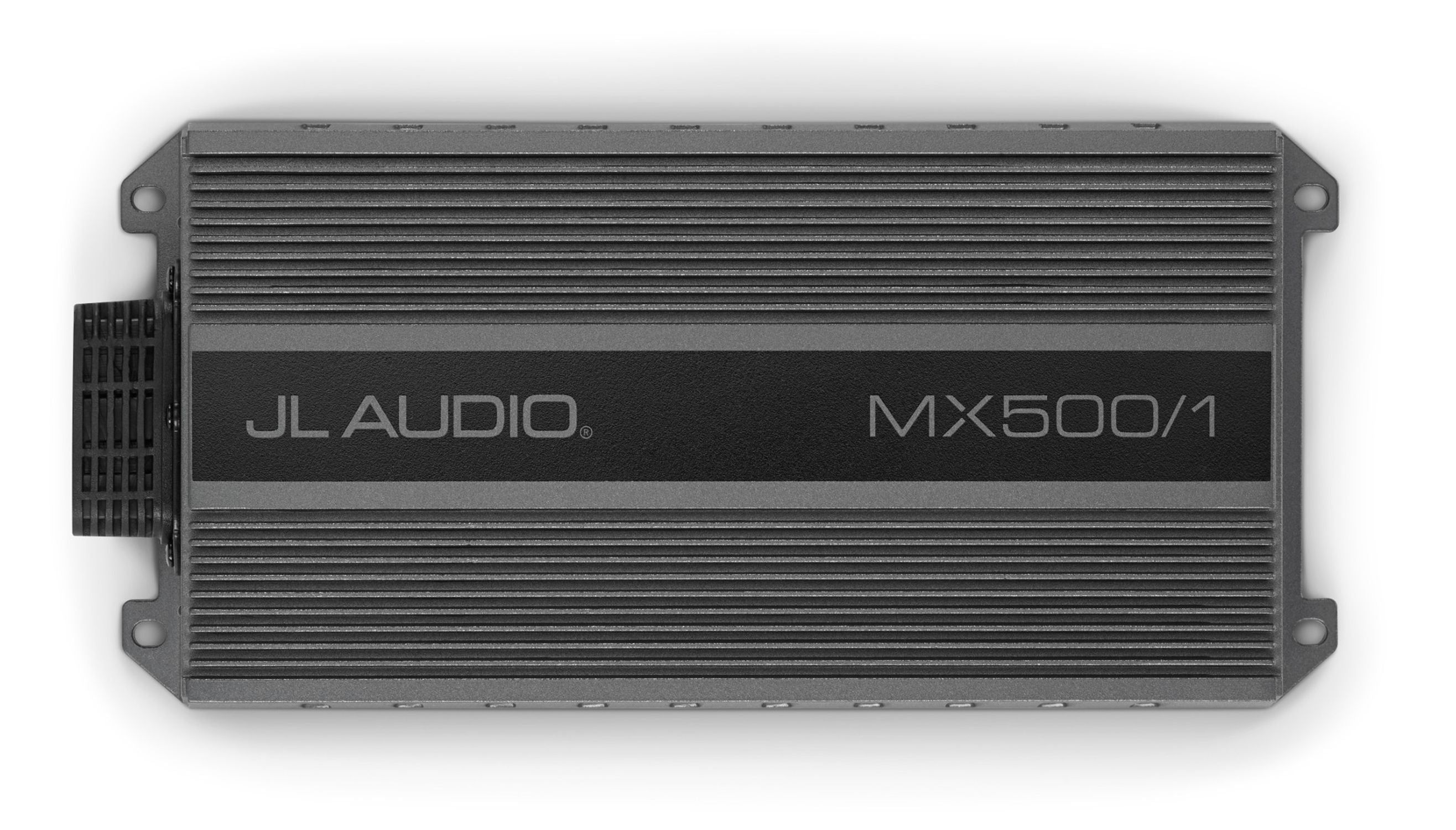 Front Overhead of MX500/1 Amplifier
