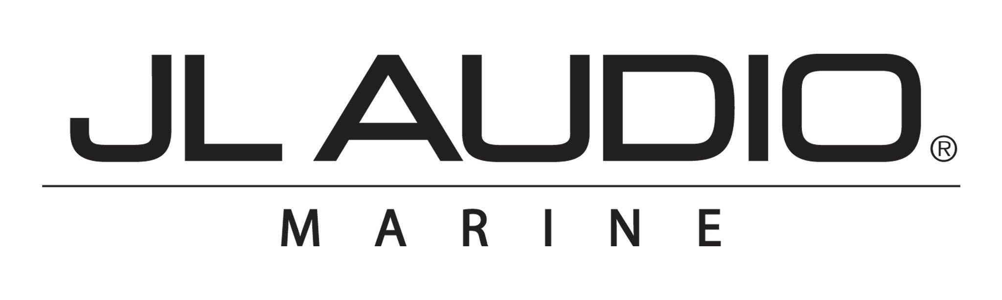 Black JL Audio Marine Logo Decal
