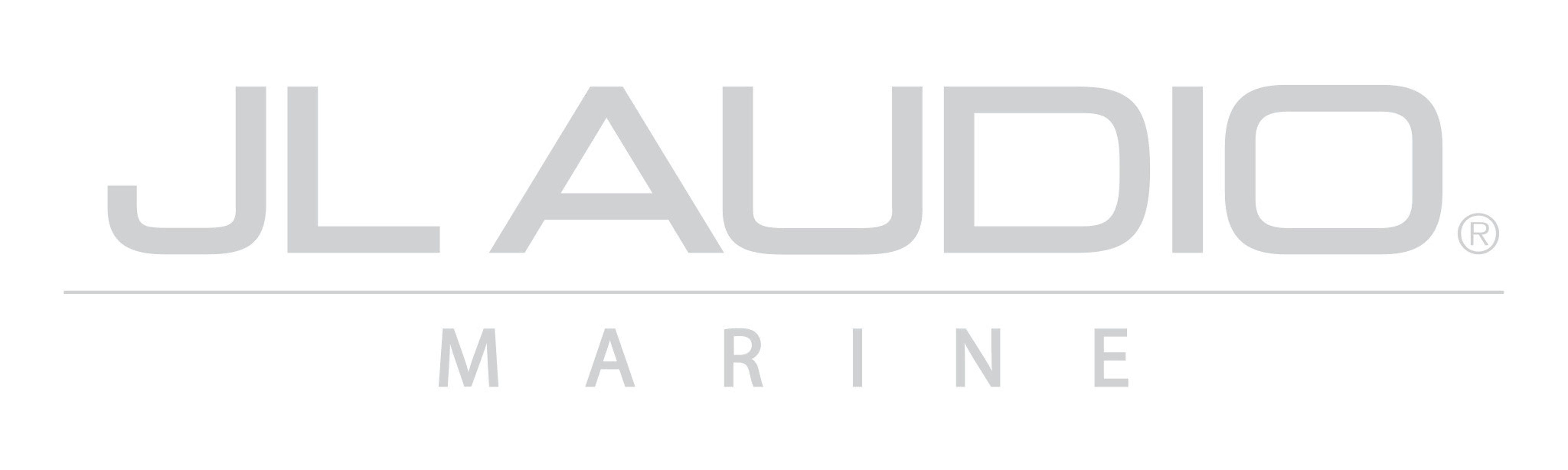 Silver JL Audio Marine Logo Decal
