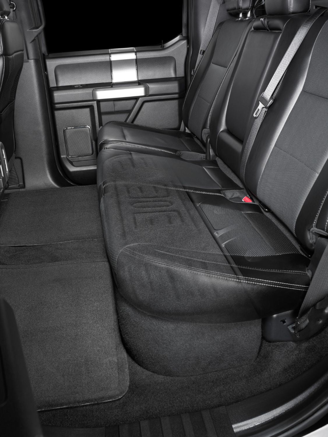 SB-F-150-SCDBL-12TW3 Stealthbox Installed in Vehicle