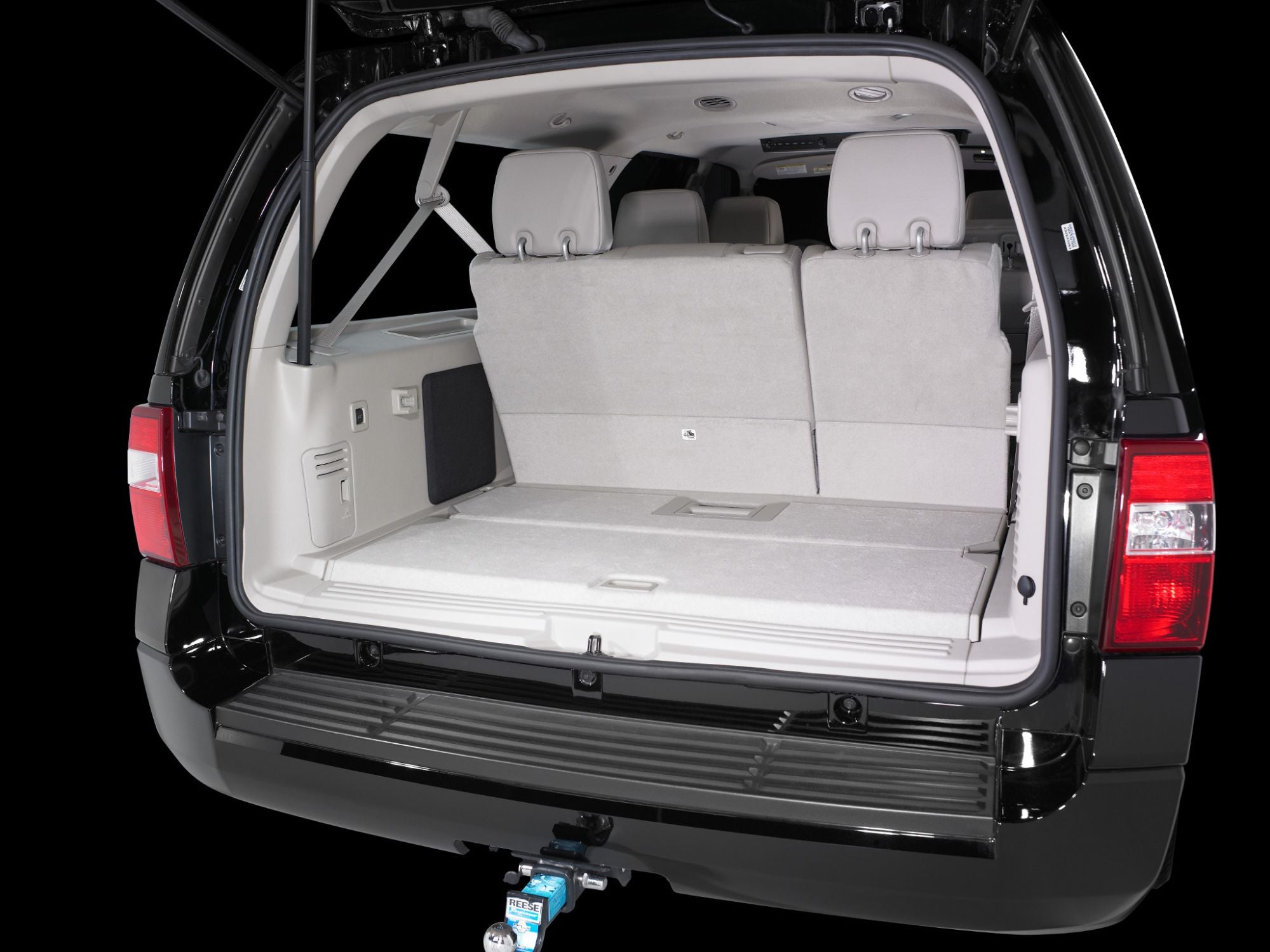 SB-F-EXPDEL-10W3v3 Stealthbox Installed in Vehicle