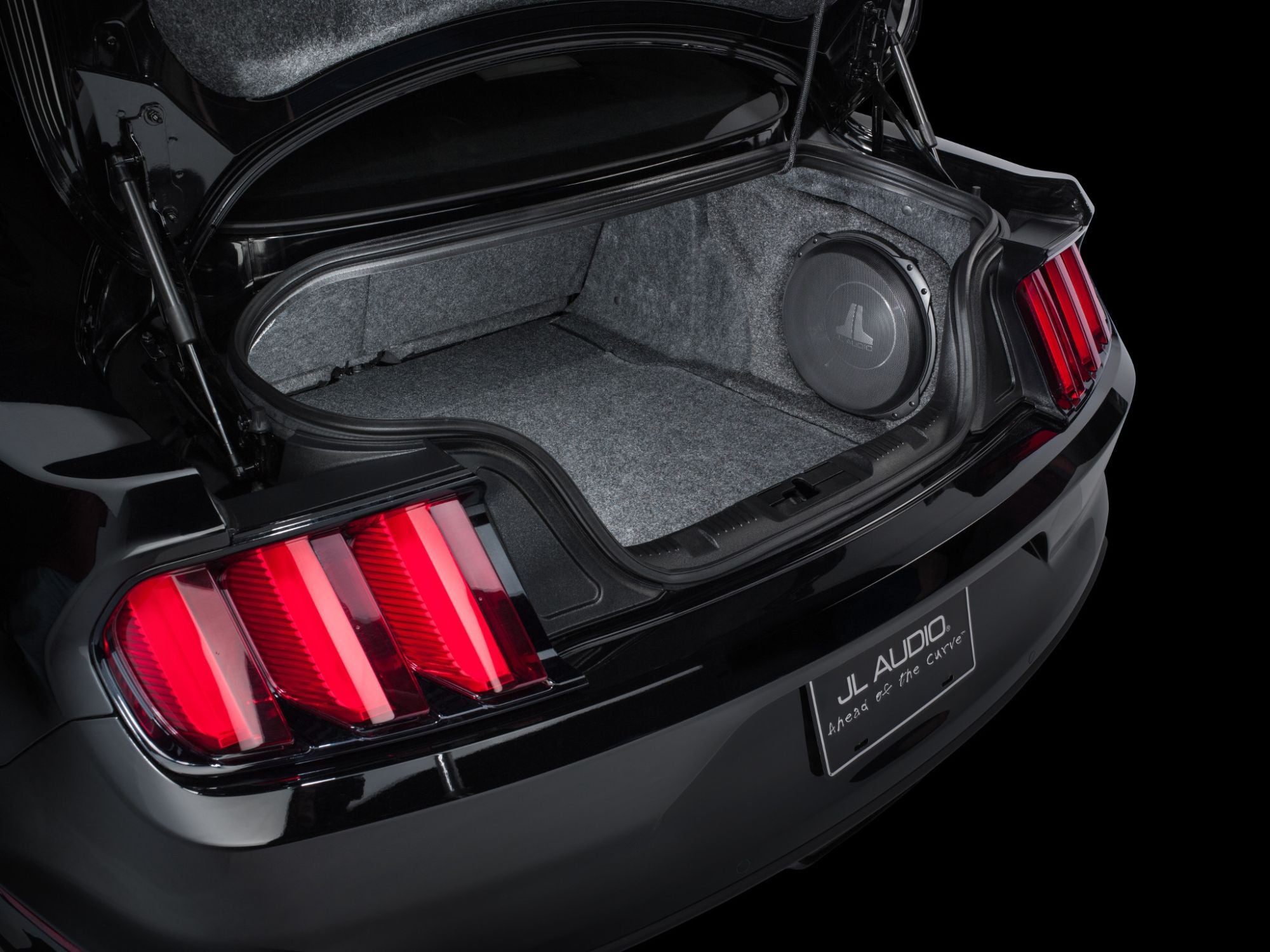 SB-F-MUSCPE-12TW3 Stealthbox Installed in Vehicle