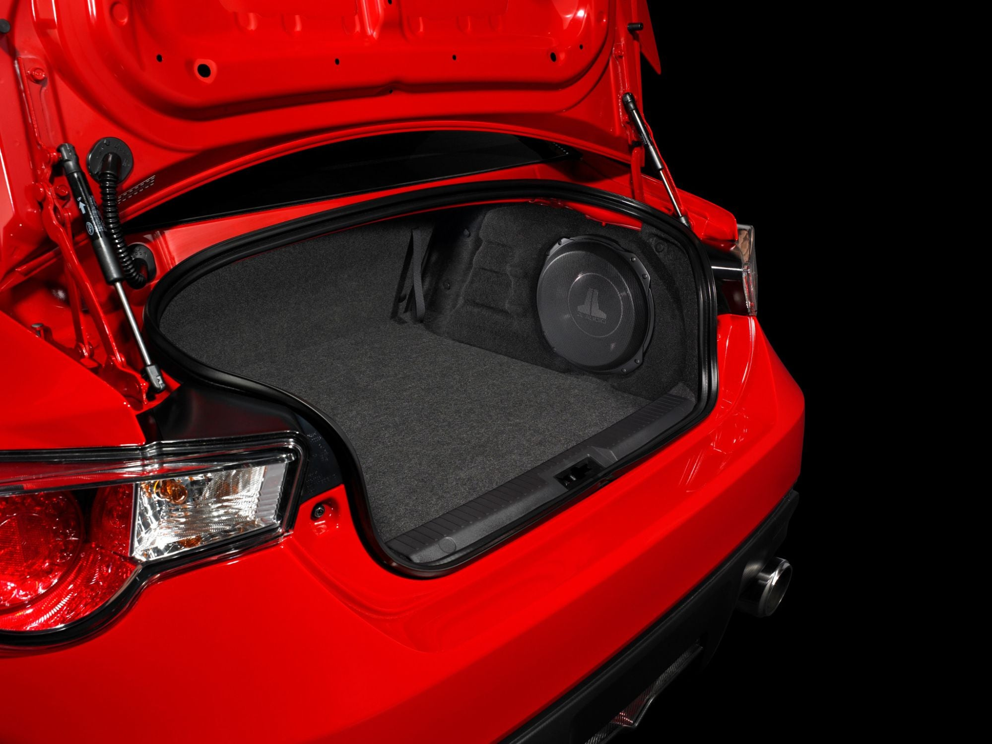 SB-S-BRZFRS-10TW3 Stealthbox Installed in Vehicle
