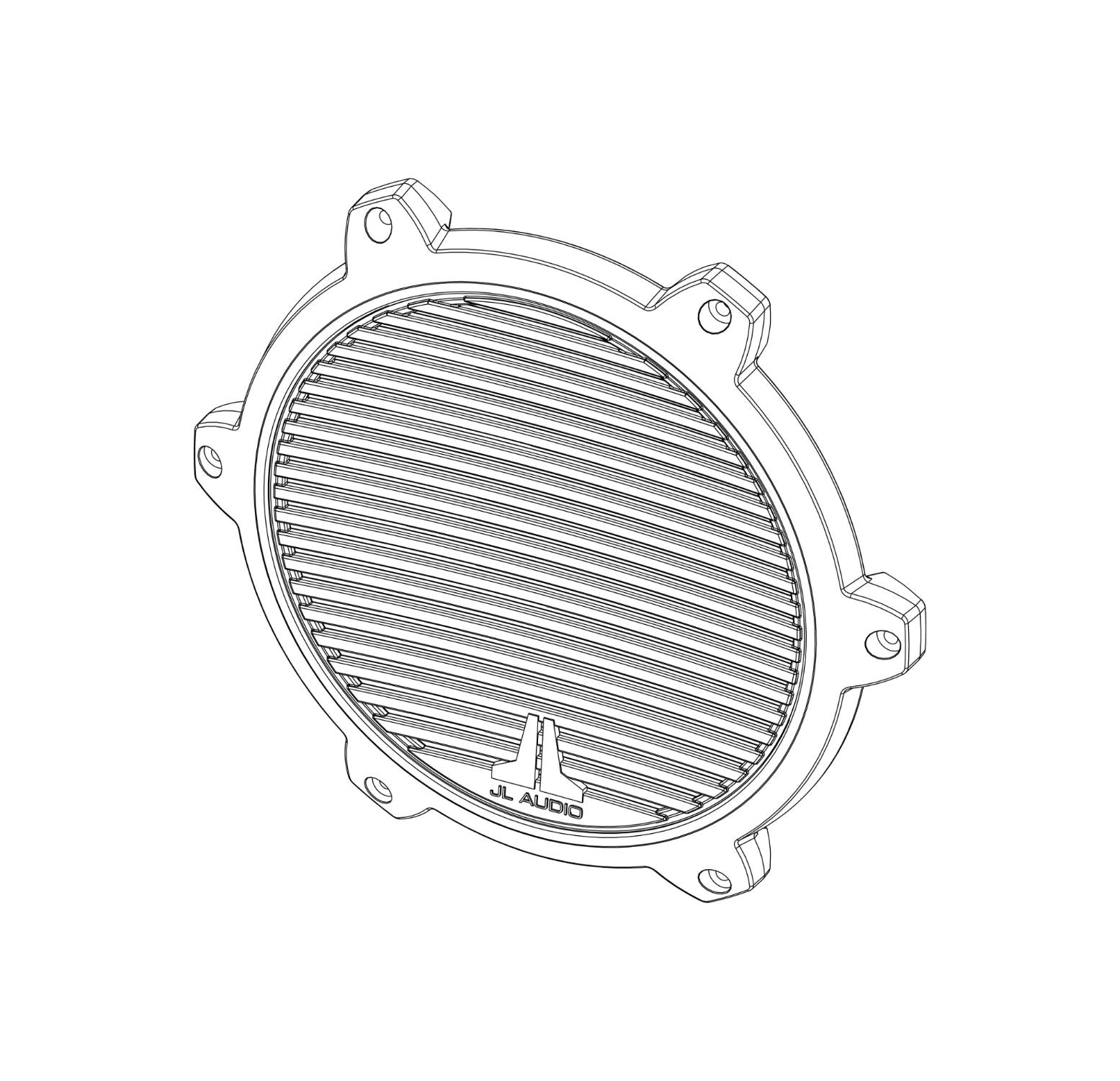 Lineart of SGR-M8-CG Replacement Part