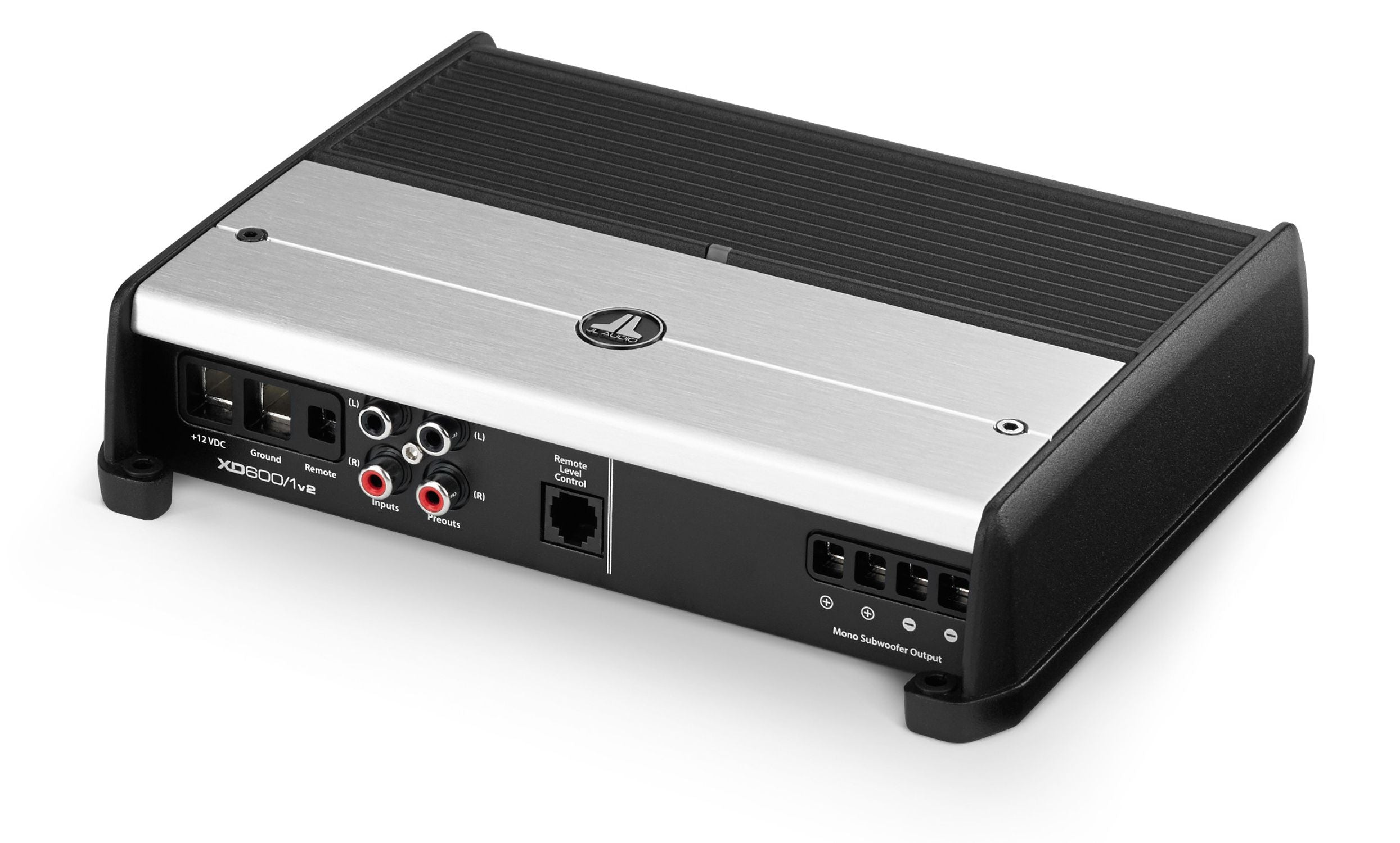 Front of XD600/1v2 Amplifier Facing Left