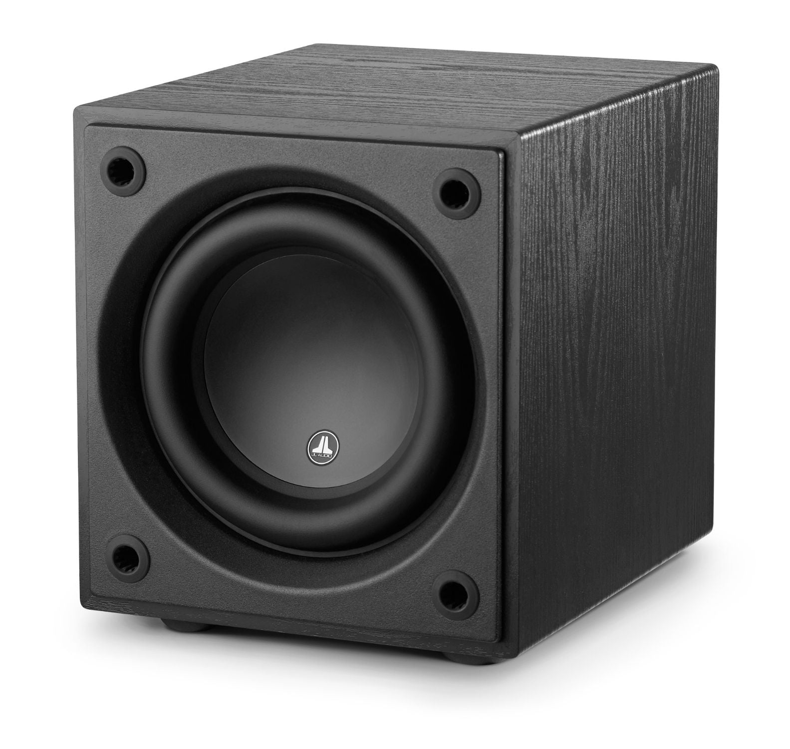Front of d108-ASH Subwoofer Facing Left