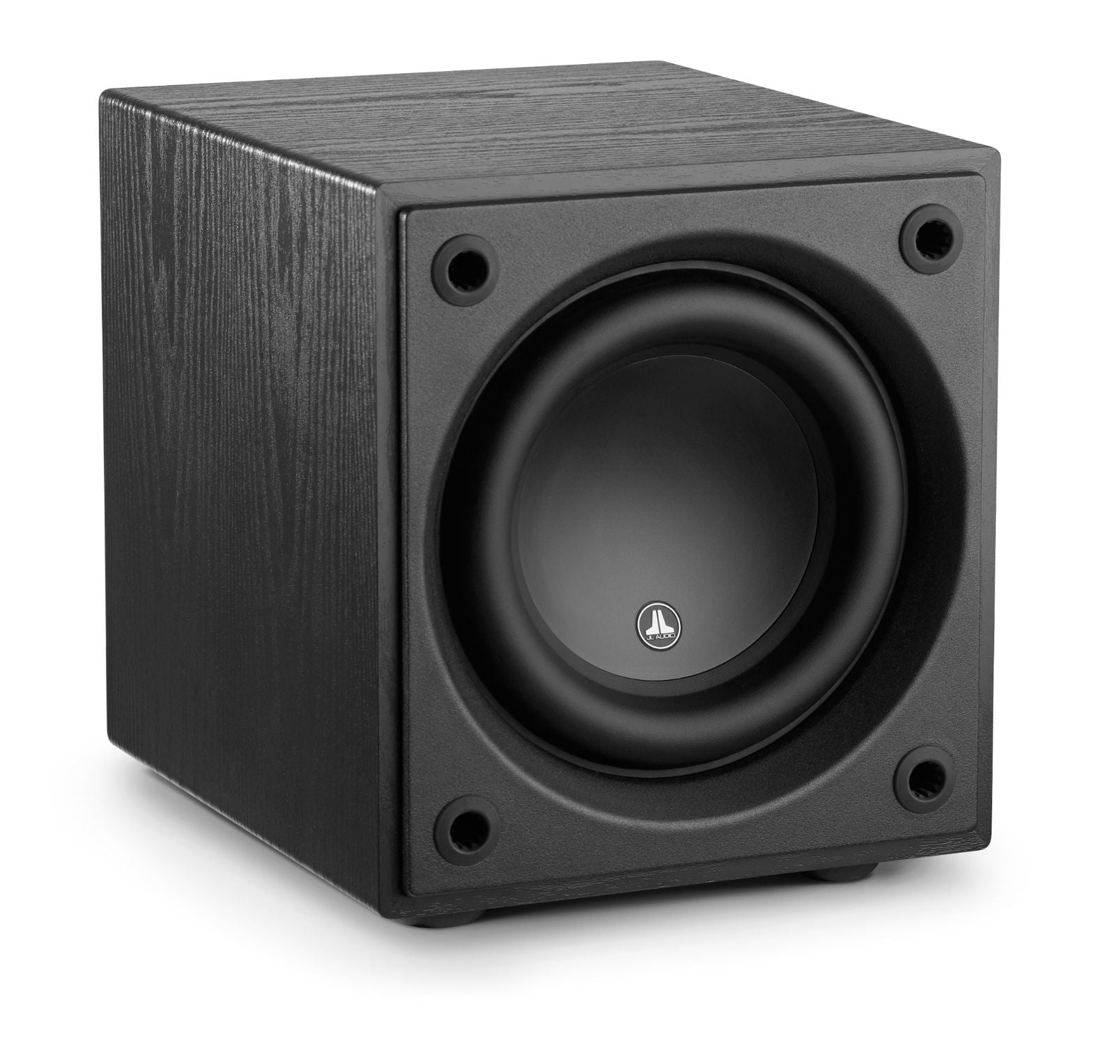 Front of d108-ASH Subwoofer Facing Right