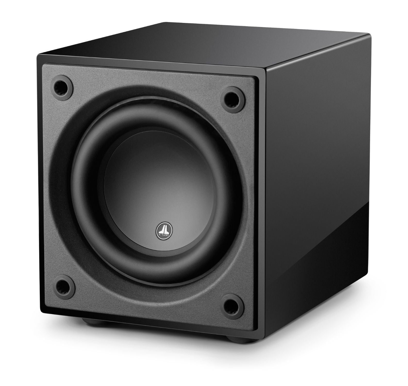 Front of d108-GLOSS Subwoofer Facing Left
