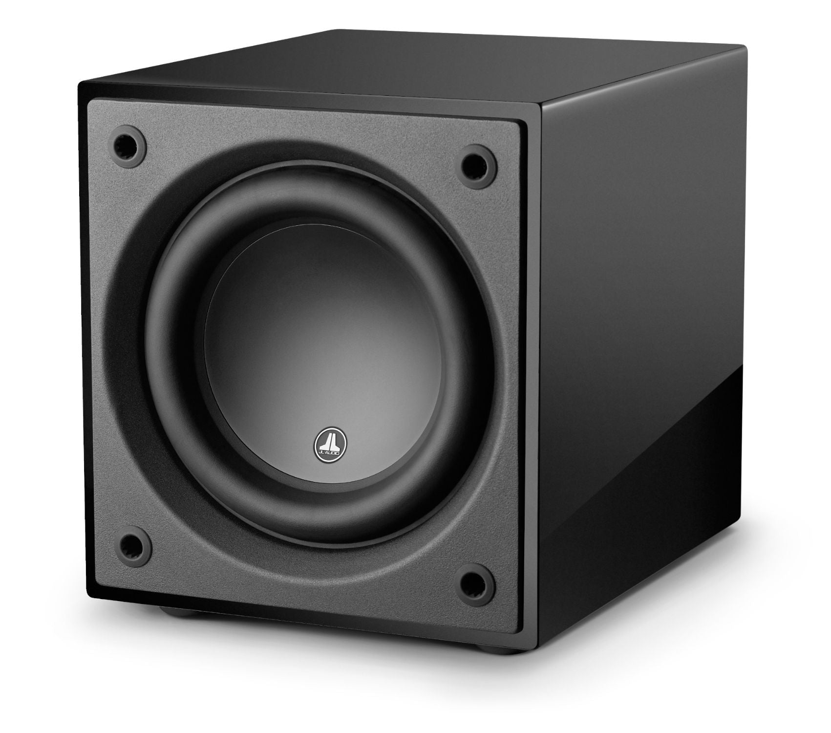 Front of d110-GLOSS Subwoofer Facing Left