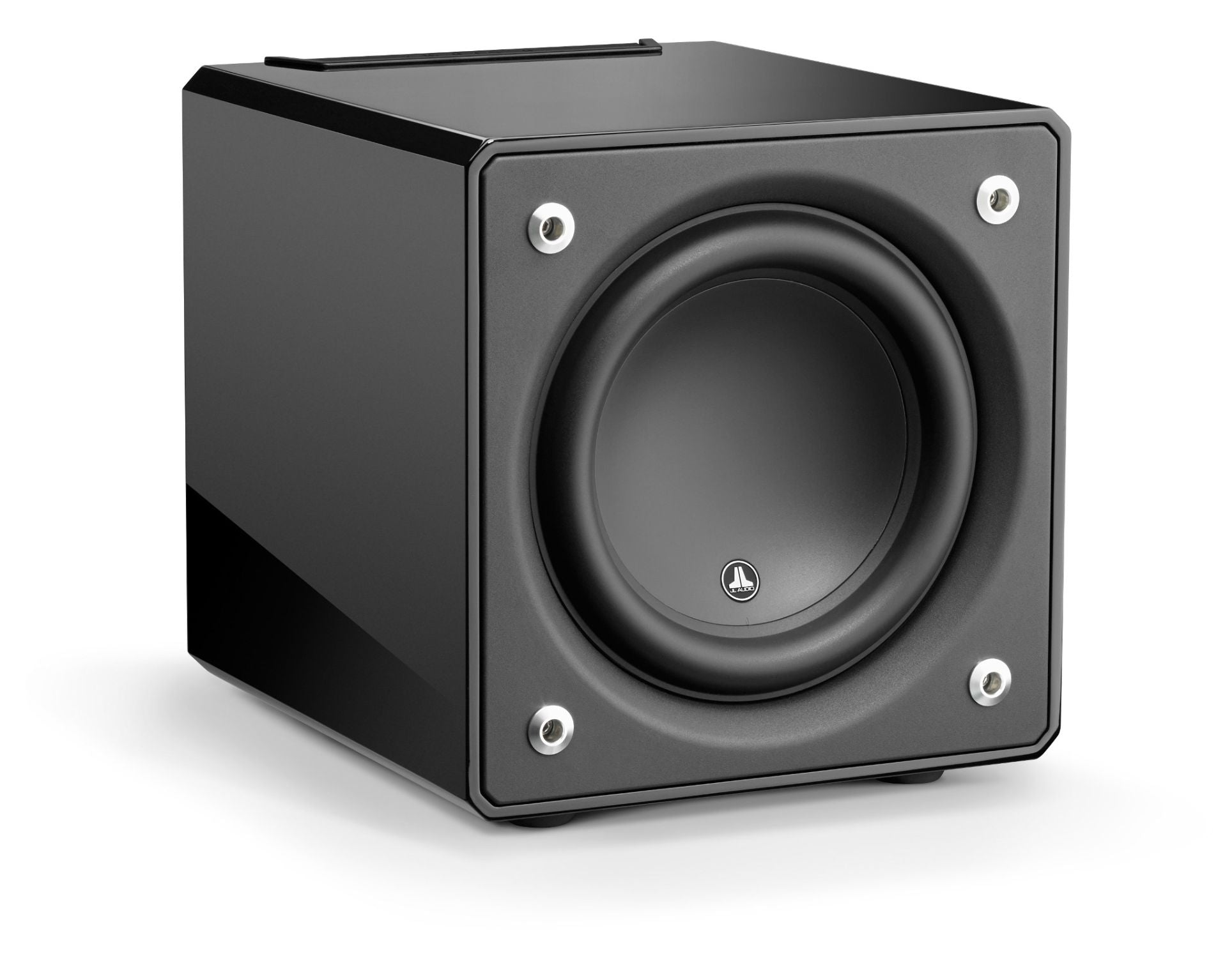 Front of e110-GLOSS Subwoofer Facing Right