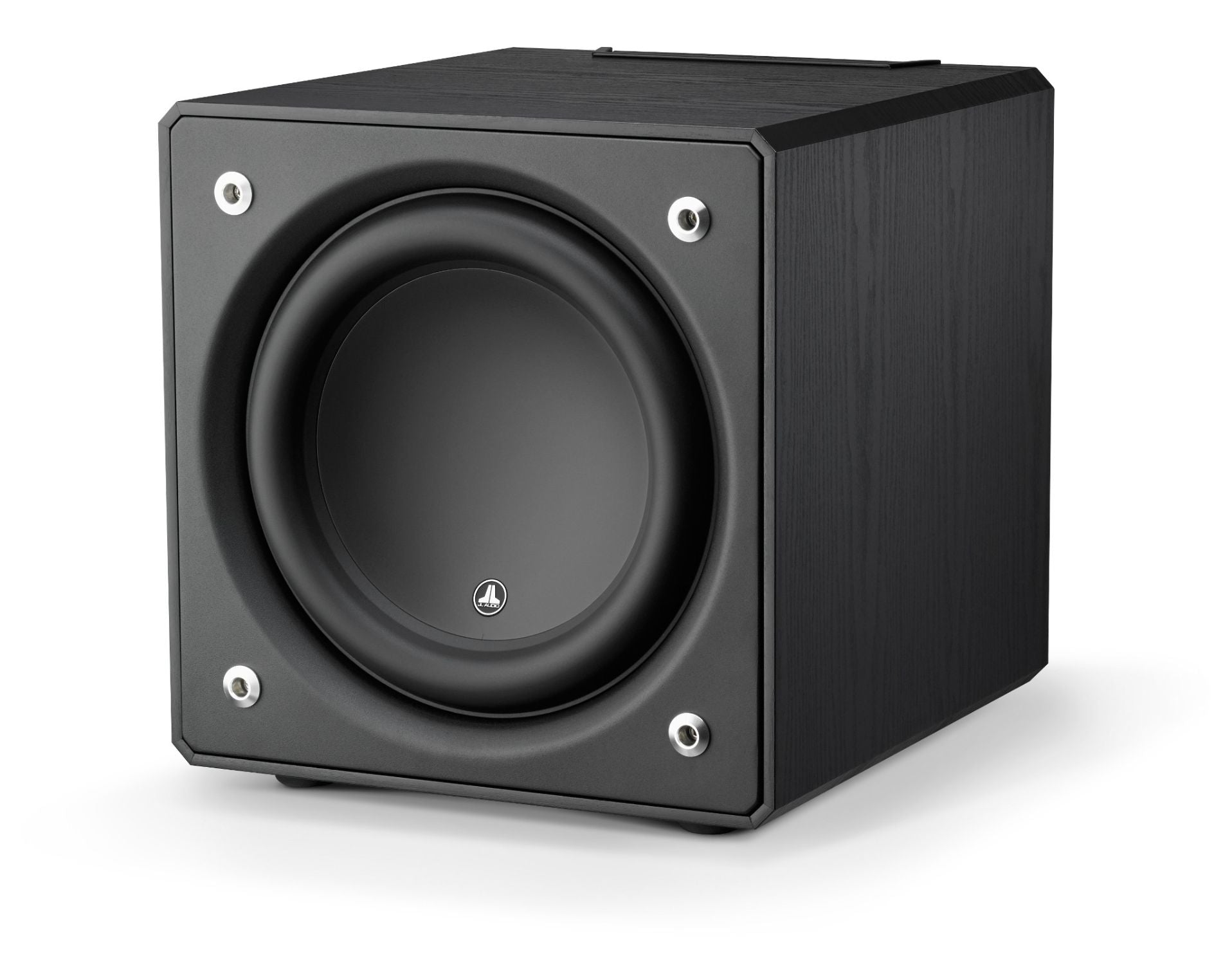 Front of e112-ASH Subwoofer Facing Left