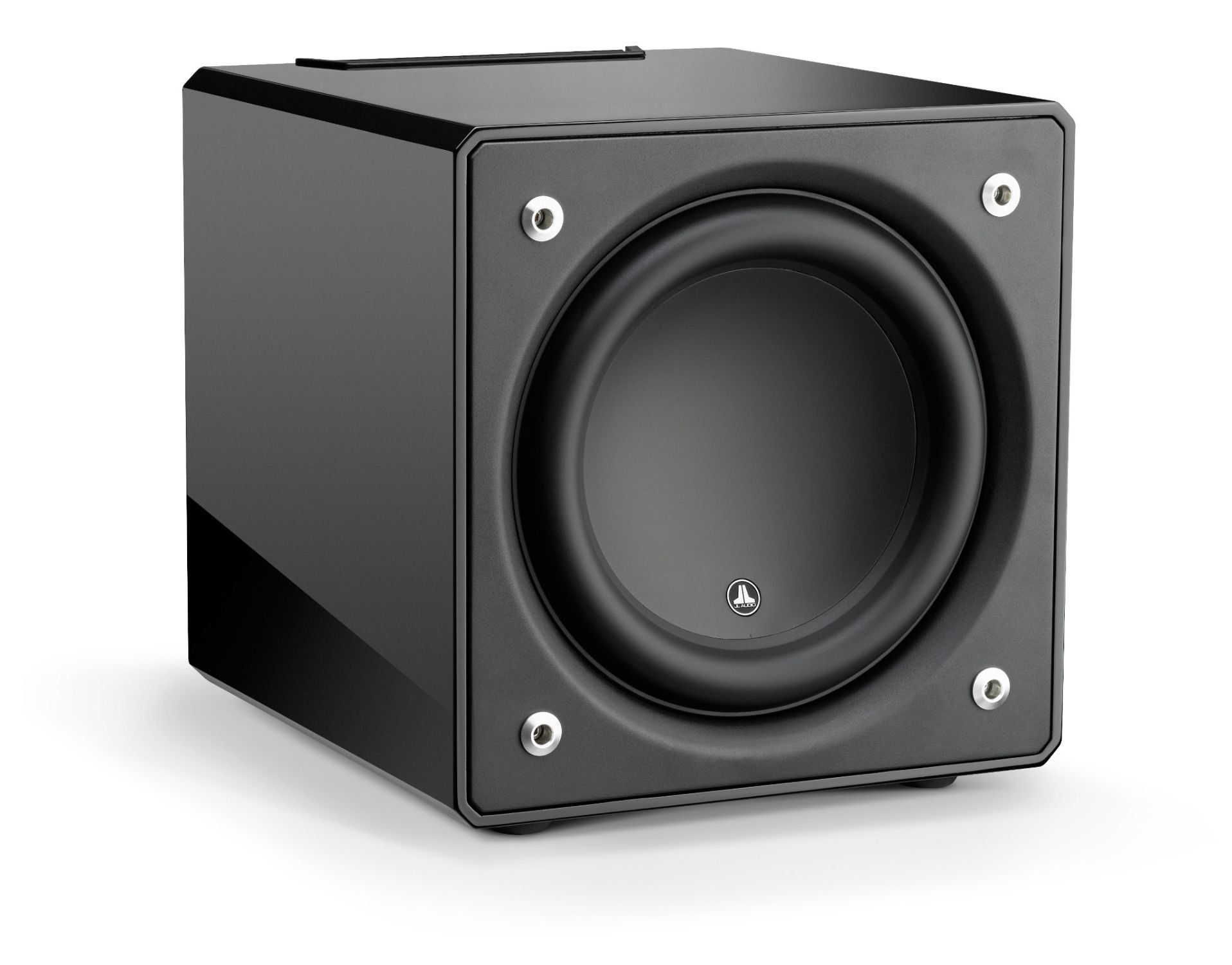Front of e112-GLOSS Subwoofer Facing Right