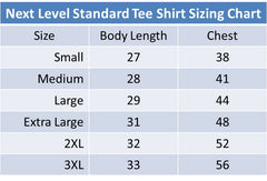 Standard Sizing Guide