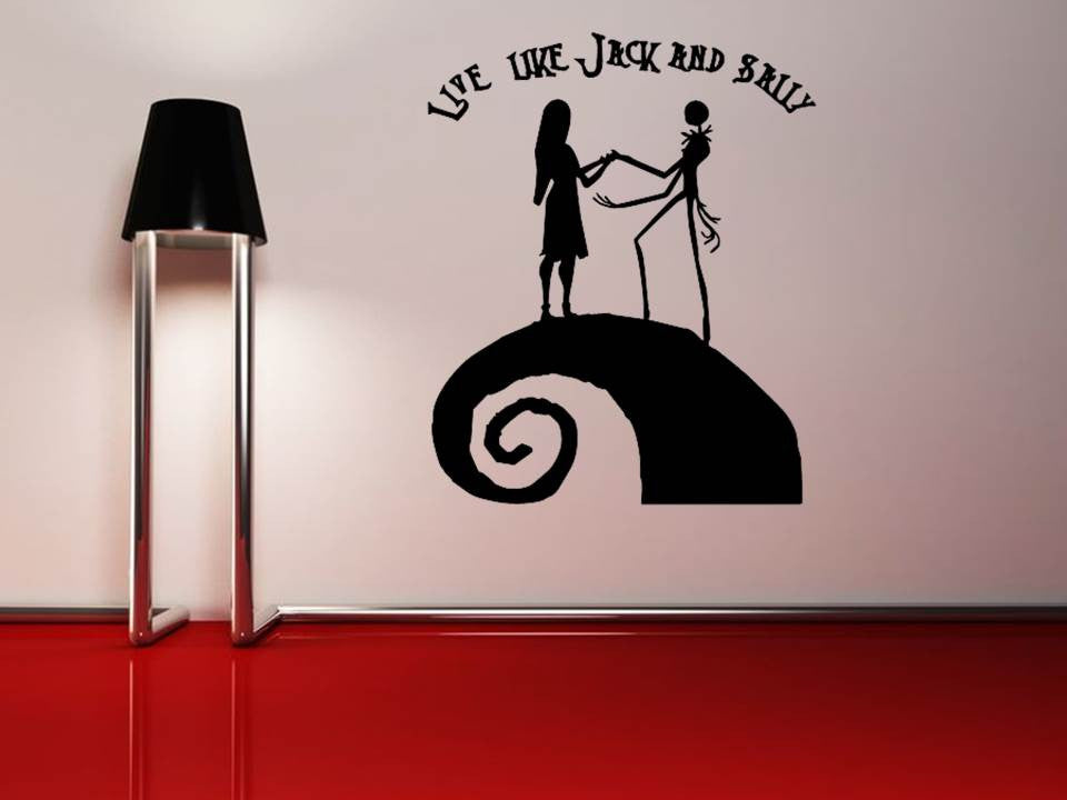 Tim Burton Nightmare Before Christmas Jack Skellington Nightmare Before  Christmas Wall Art MyGeekery