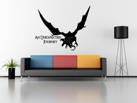 Smaug The Hobbit An Unexpected Journey Wall Art