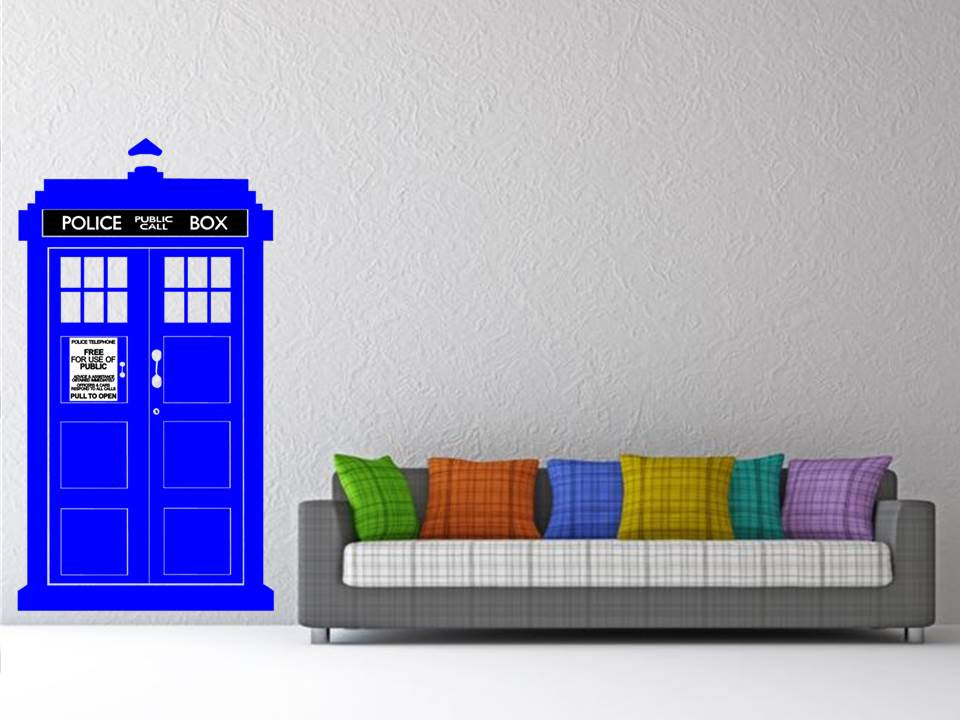 Doctor Who TARDIS Wall Art