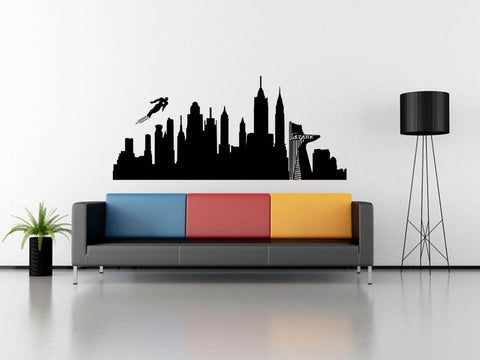 New York & Iron Man wall art