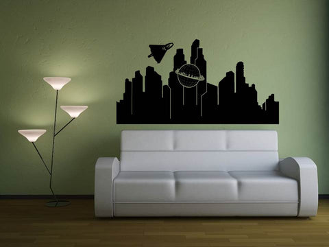 Superman Metropolis Wall Art