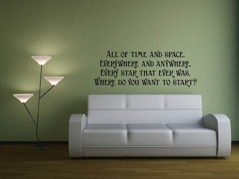 All of Time & Space Wall Art